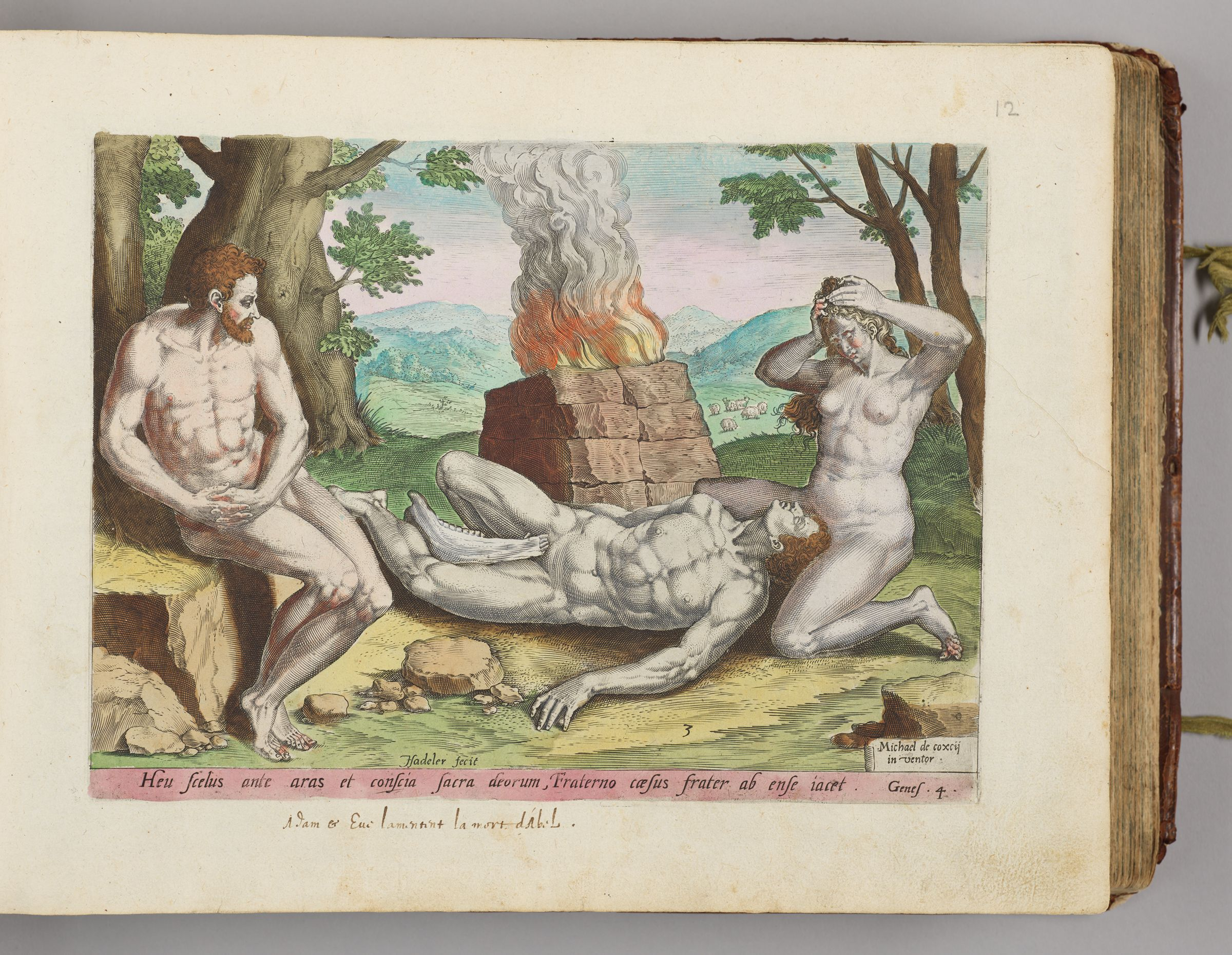 Adam And Eve Mourning Abel's Death