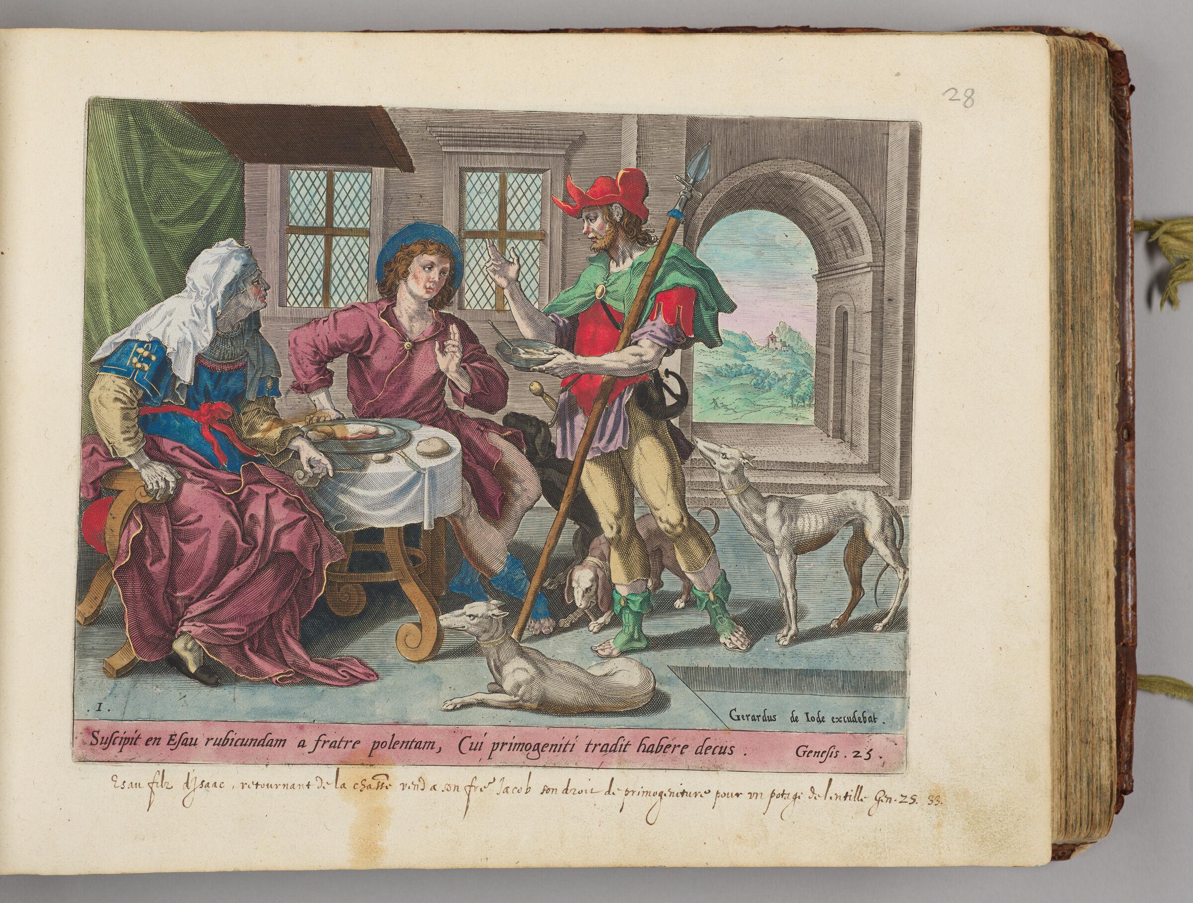 Esau Selling His Birthright To Jacob