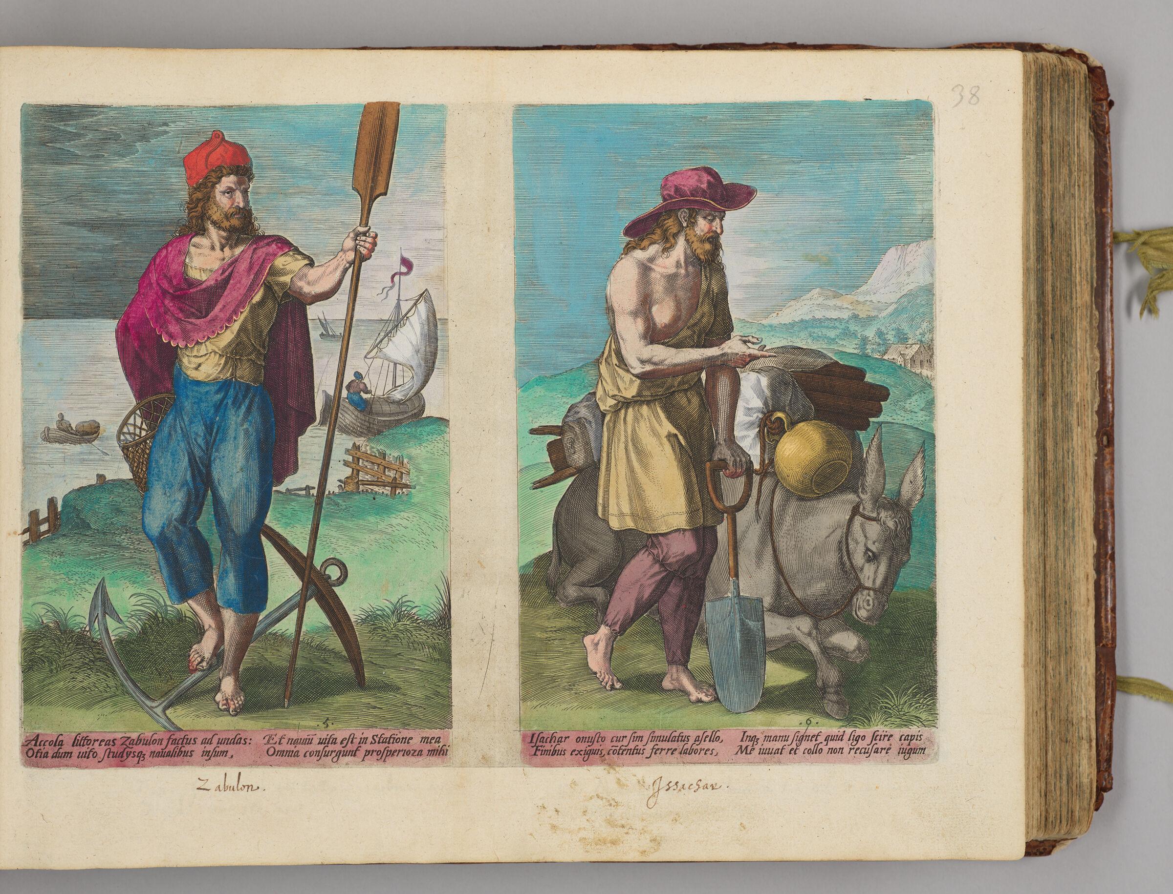 Zabulon And Issachar