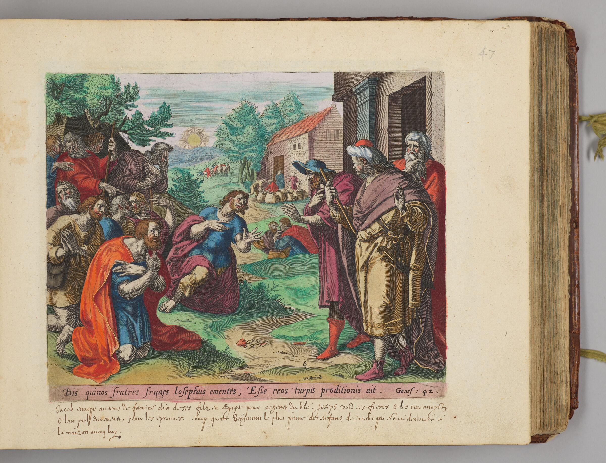 Joseph Recognizing His Brothers
