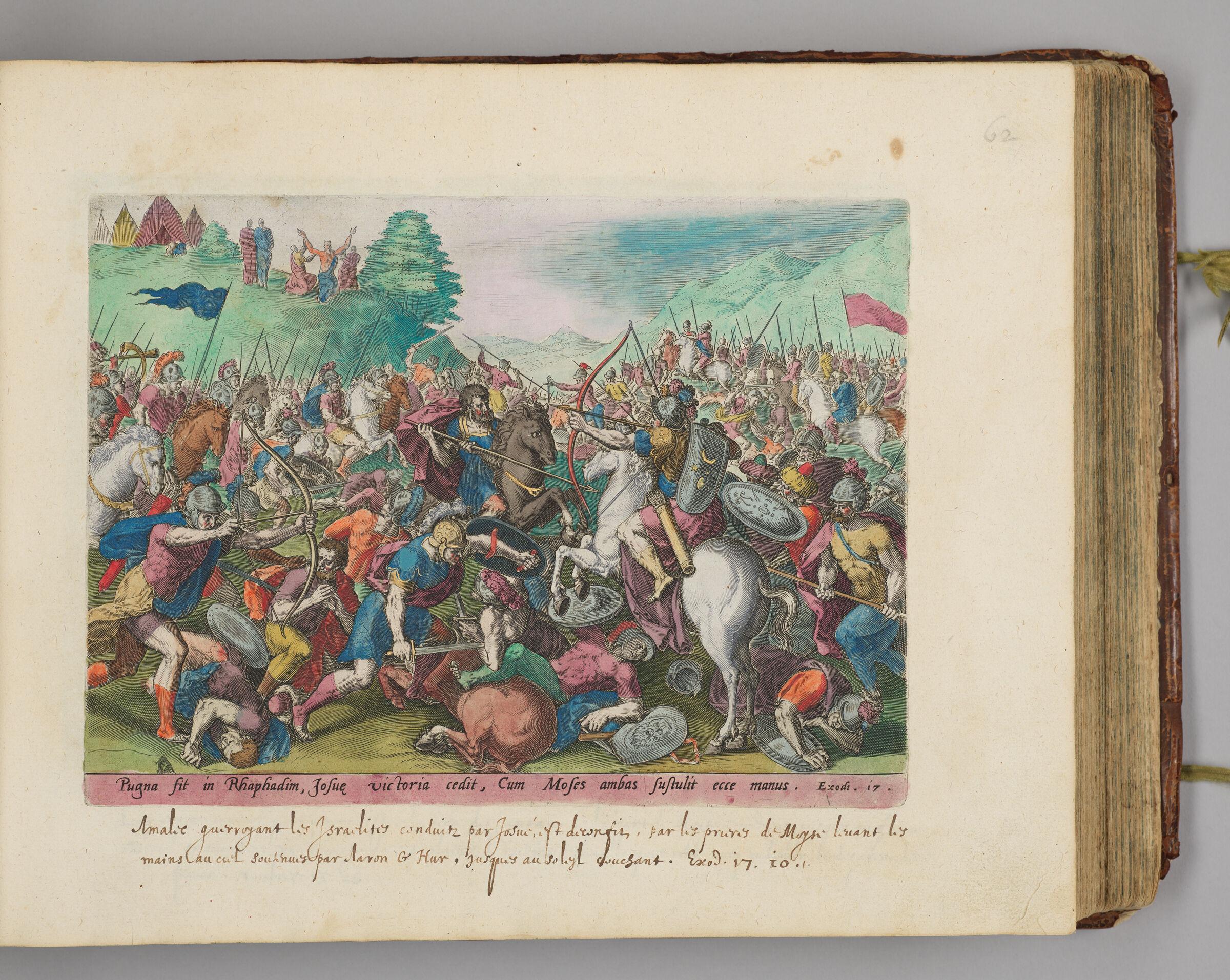 The Battle Of Joshua Against The Amalekites