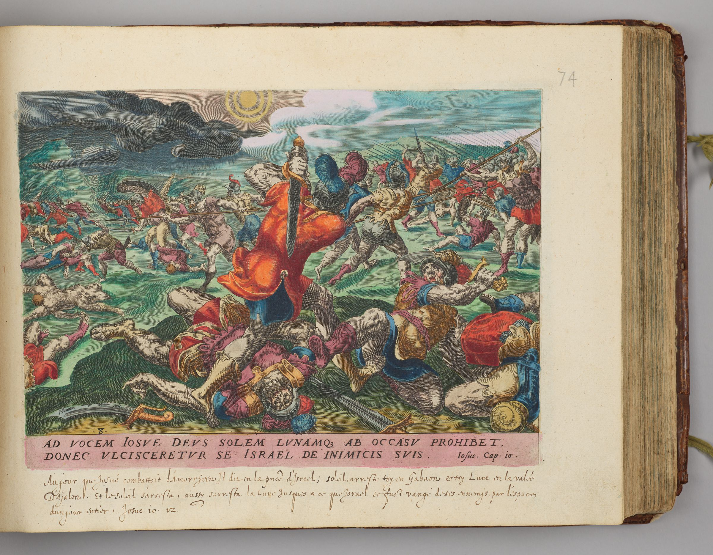 The Battle At Gibeon