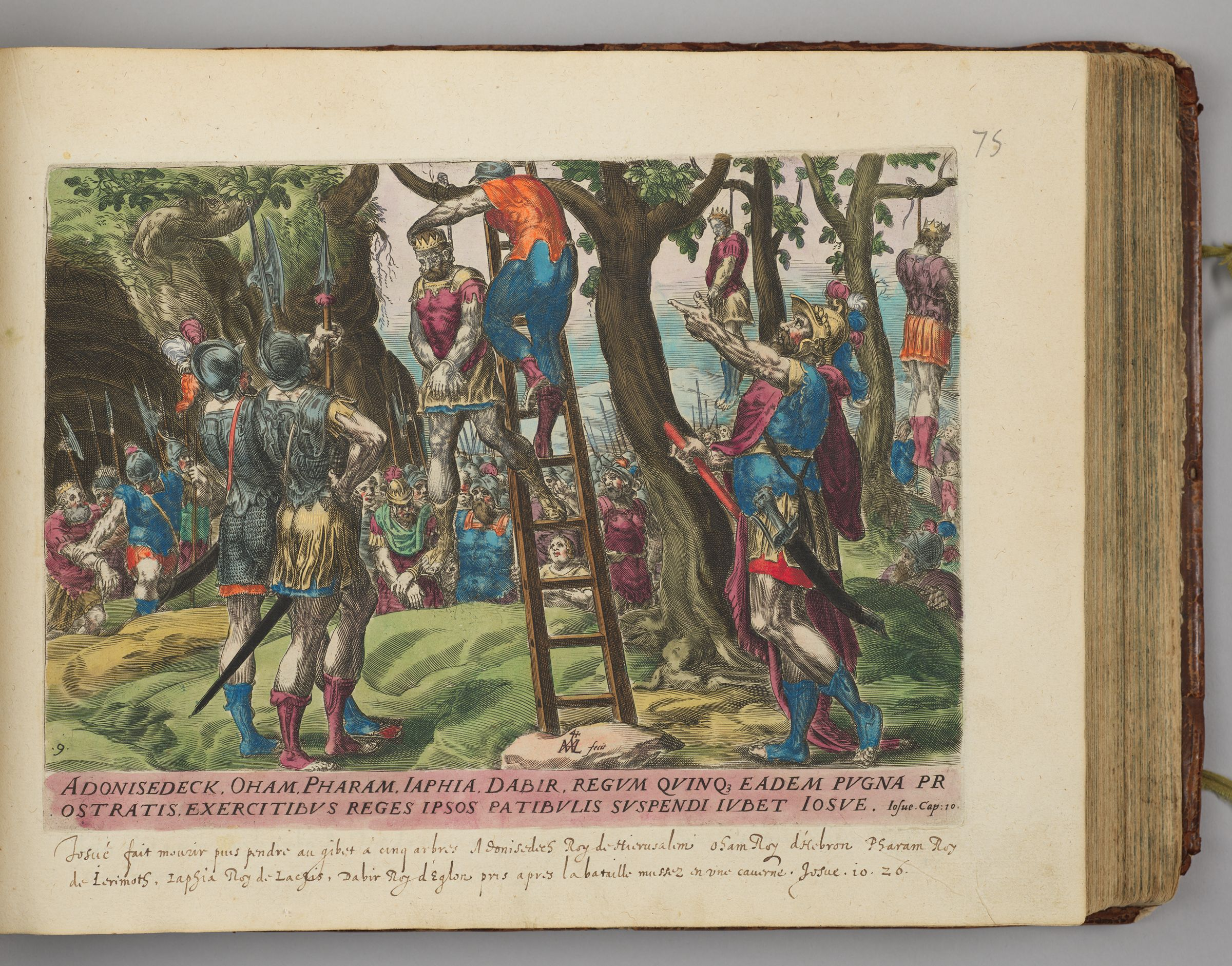 The Five Amorite Kings Hung From Trees