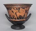 Calyx Krater (Mixing Bowl For Wine And Water): Return Of Hephaistos To Olympos