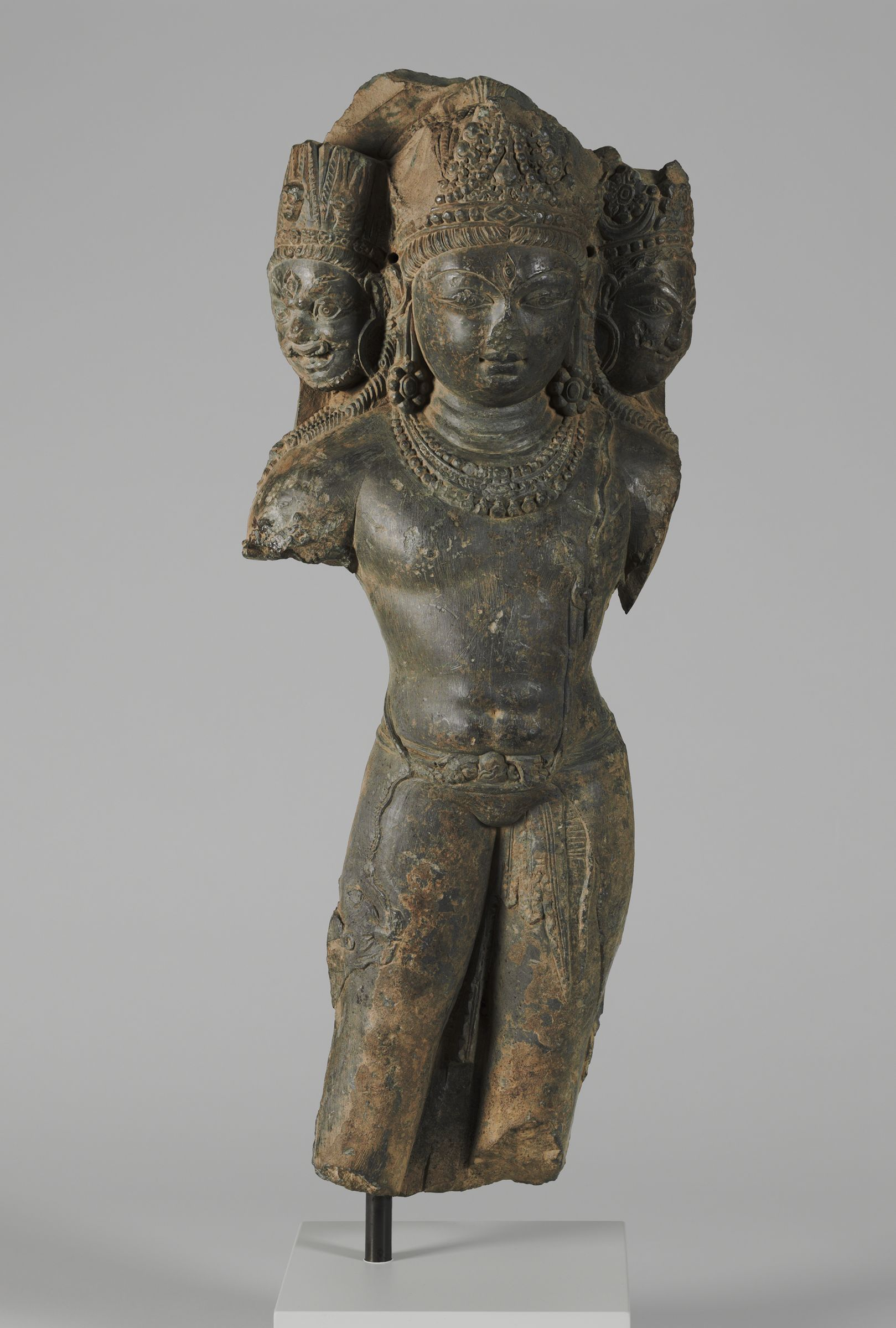 Standing Three-Headed Shiva