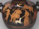 Hydria (Water Jar): Dionysos And Entourage