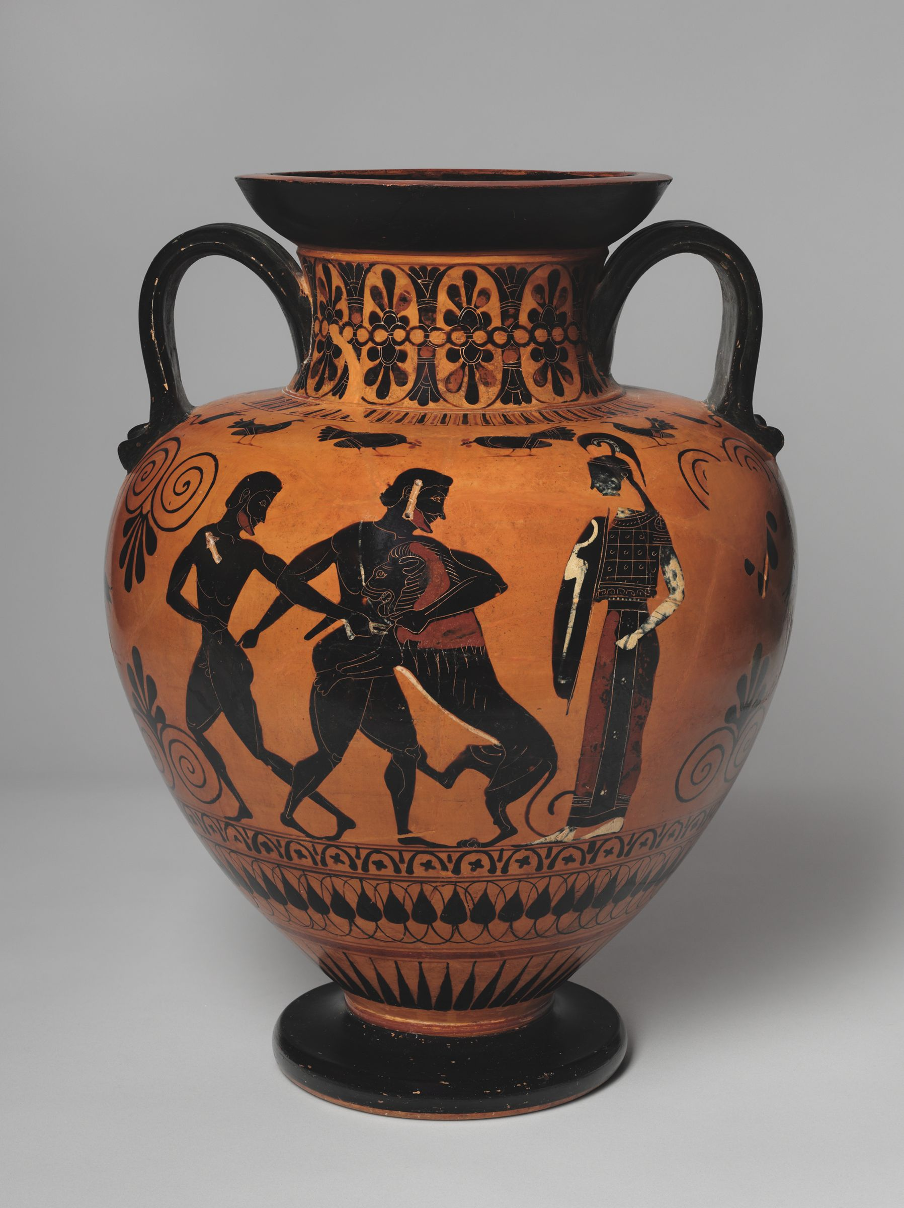 From the harvard art museums collections neck amphora storage neck amphora storage jar herakles and the nemean lion theseus and the reviewsmspy