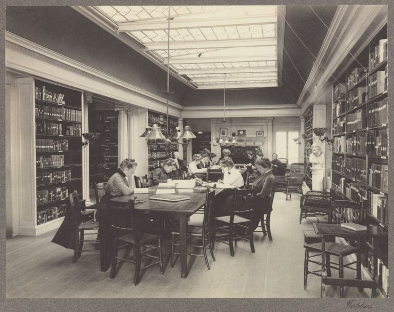 Fay House Library, 1890s