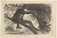 The Army Of The Potomac - A Sharp-Shooter On Picket Duty - [From A Painting By W. Homer, Esq.]