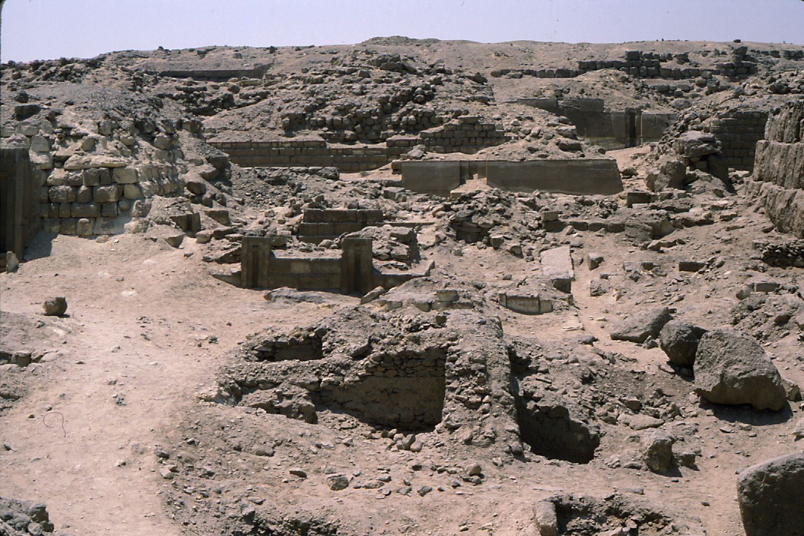 Western Cemetery: Site: Giza; View: G 2154, G 2154a, G 2153, G 2151, G 2152