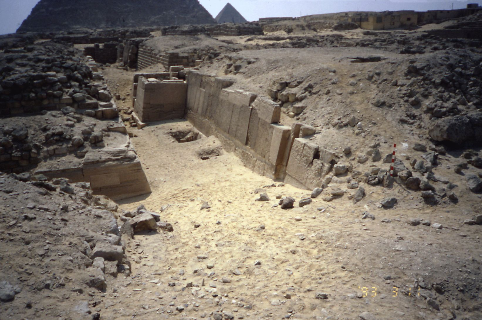 Western Cemetery: Site: Giza; View: G 2110, G 2115, G 2130
