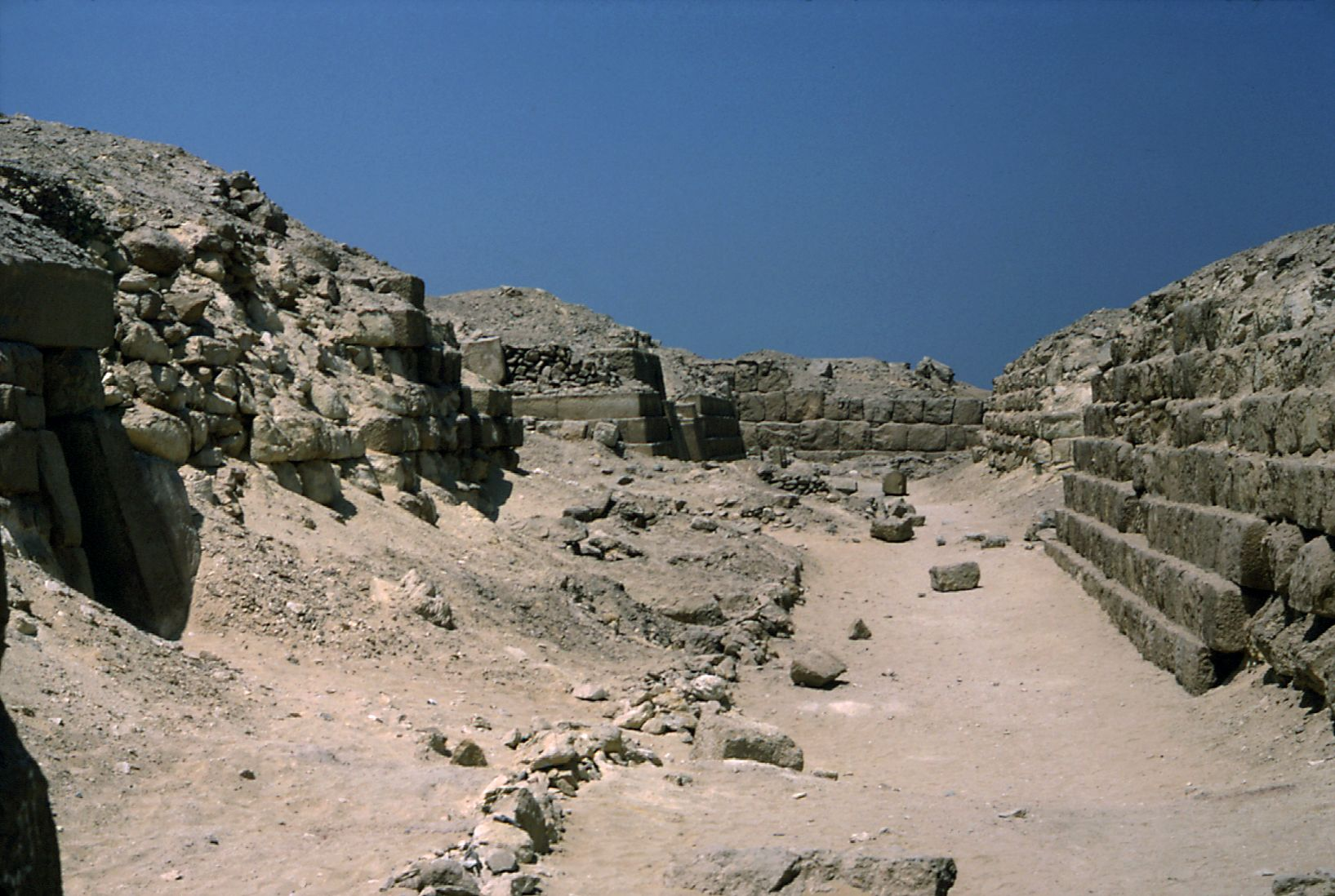Western Cemetery: Site: Giza; View: G 2140, G 2160, G 2150, G 2220