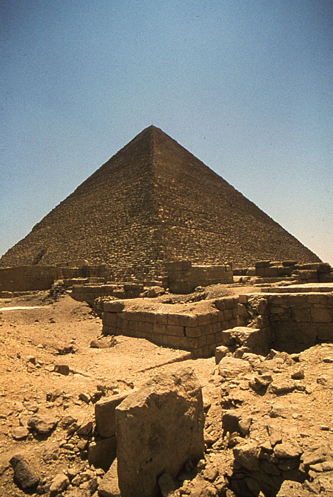 Western Cemetery: Site: Giza; View: Cemetery G 2400