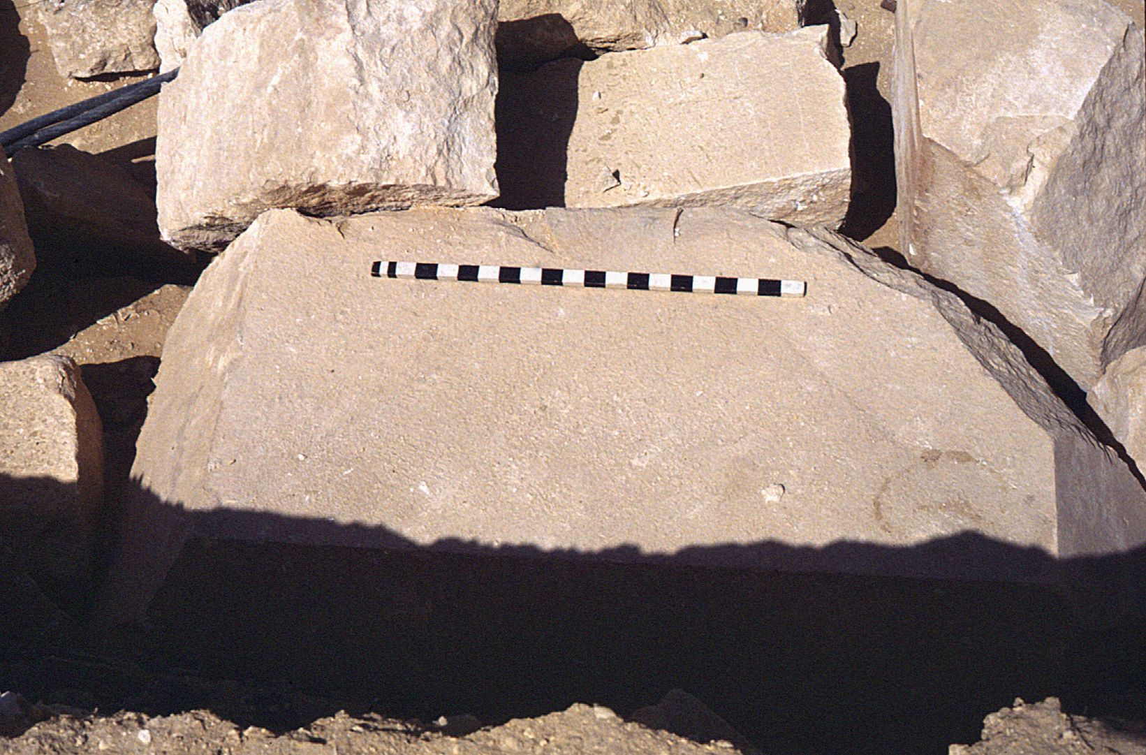 Eastern Cemetery: Site: Giza; View: Khufu causeway