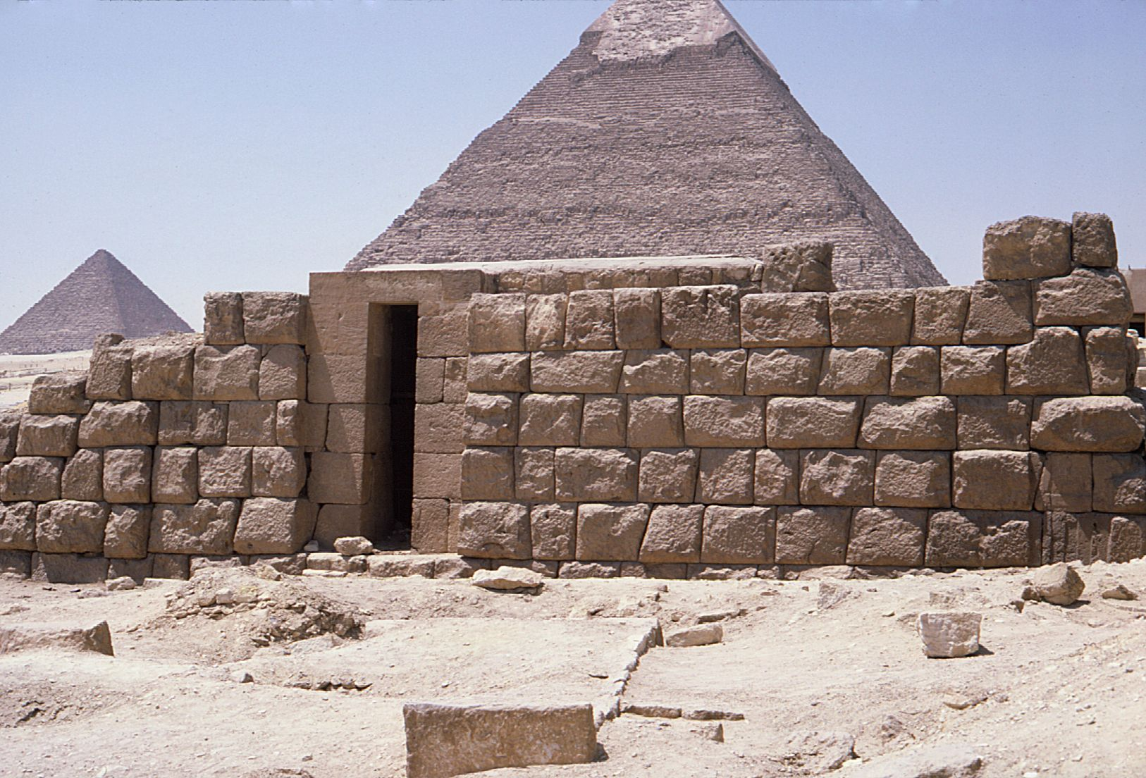 Eastern Cemetery: Site: Giza; View: G 7152