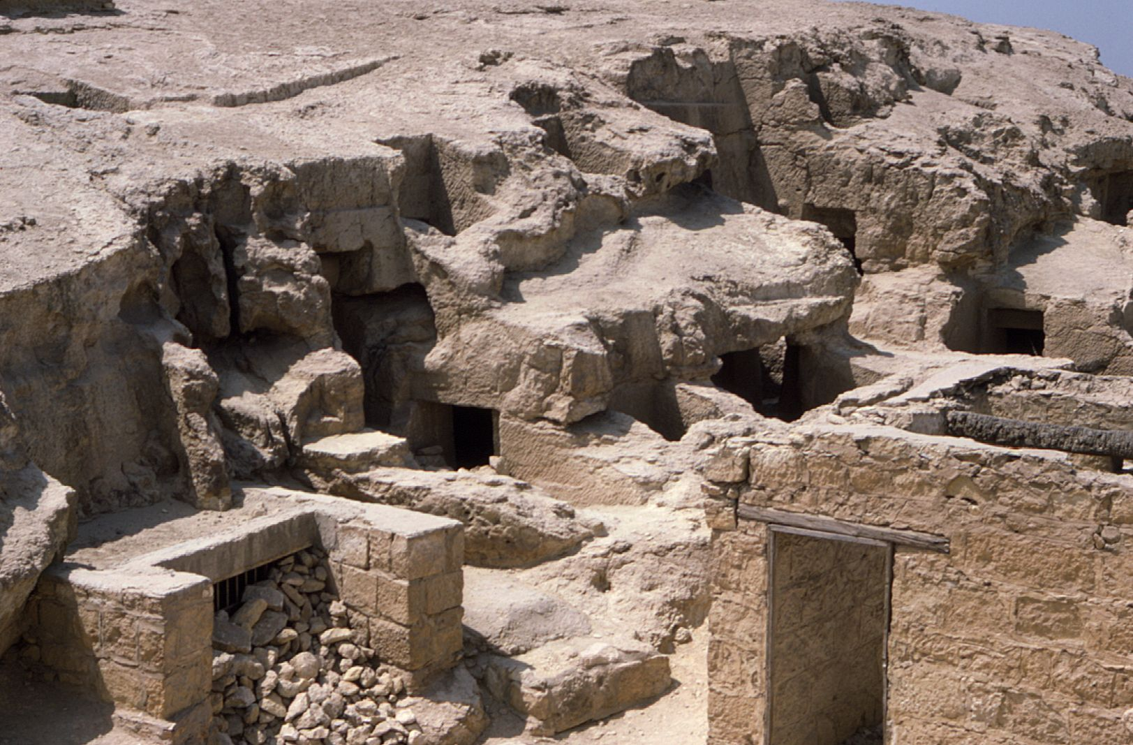 Eastern Cemetery: Site: Giza; View: G 7837+7843, G 7835, G 7814