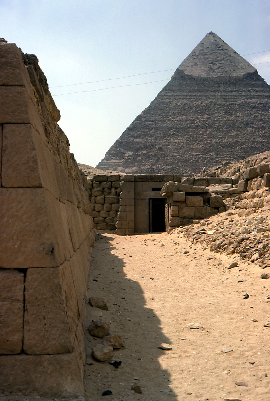 Western Cemetery: Site: Giza; View: G 2155, G 2135, Qedfy (G 2135a), G 4761