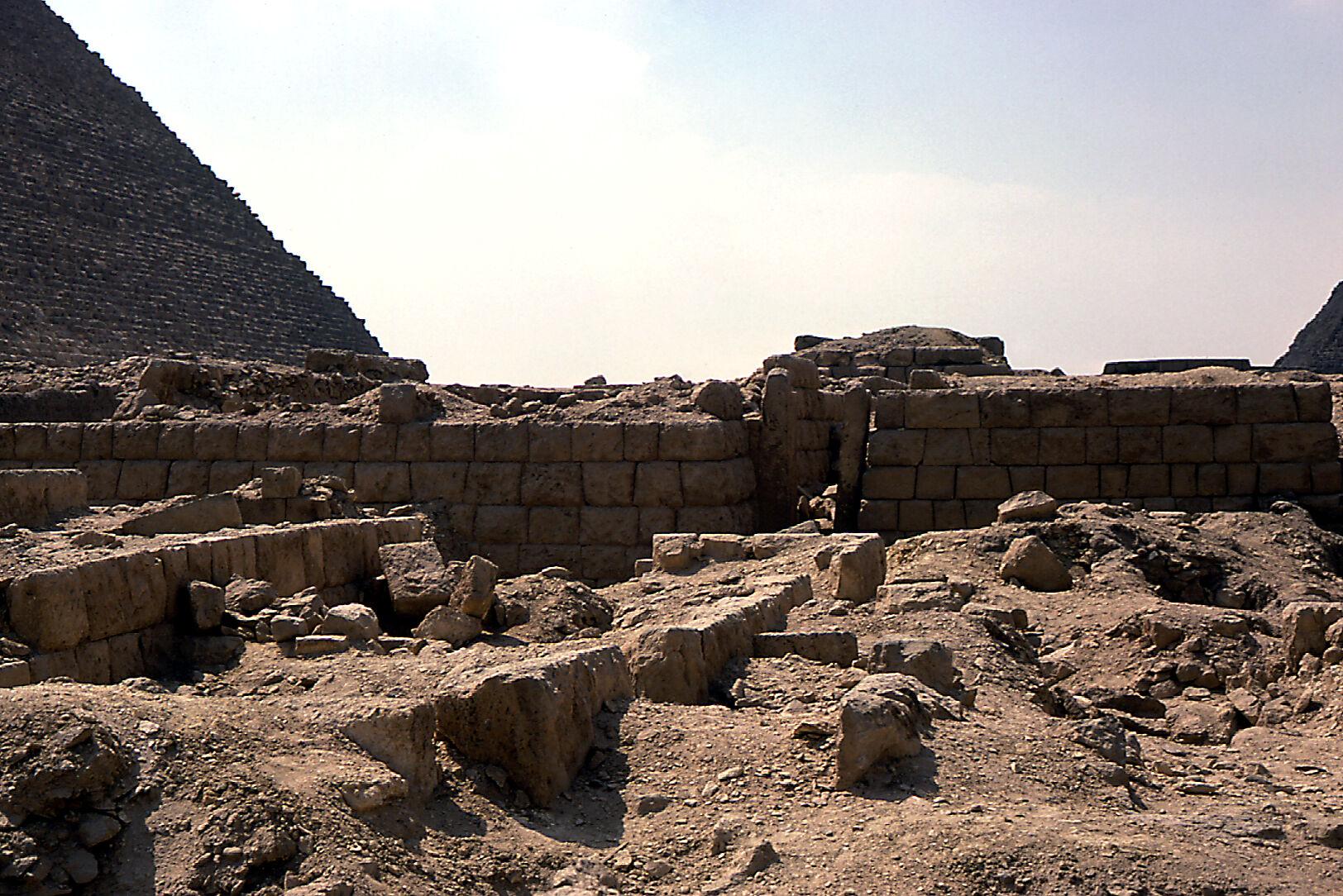Western Cemetery: Site: Giza; View: G 2403, G 2408, G 2407, G 2360, G 2353