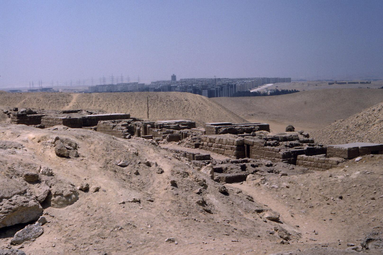 Western Cemetery: Site: Giza; View: G 2084, G 2085, G 2086, G 2087, G 2088, G 2089, G 2091, G 2092a, G 2094, G 2095, G 2096, G 2097, G 2098, G 2099, G 2240, G 2241, G 2230+2231, G 2092+2093