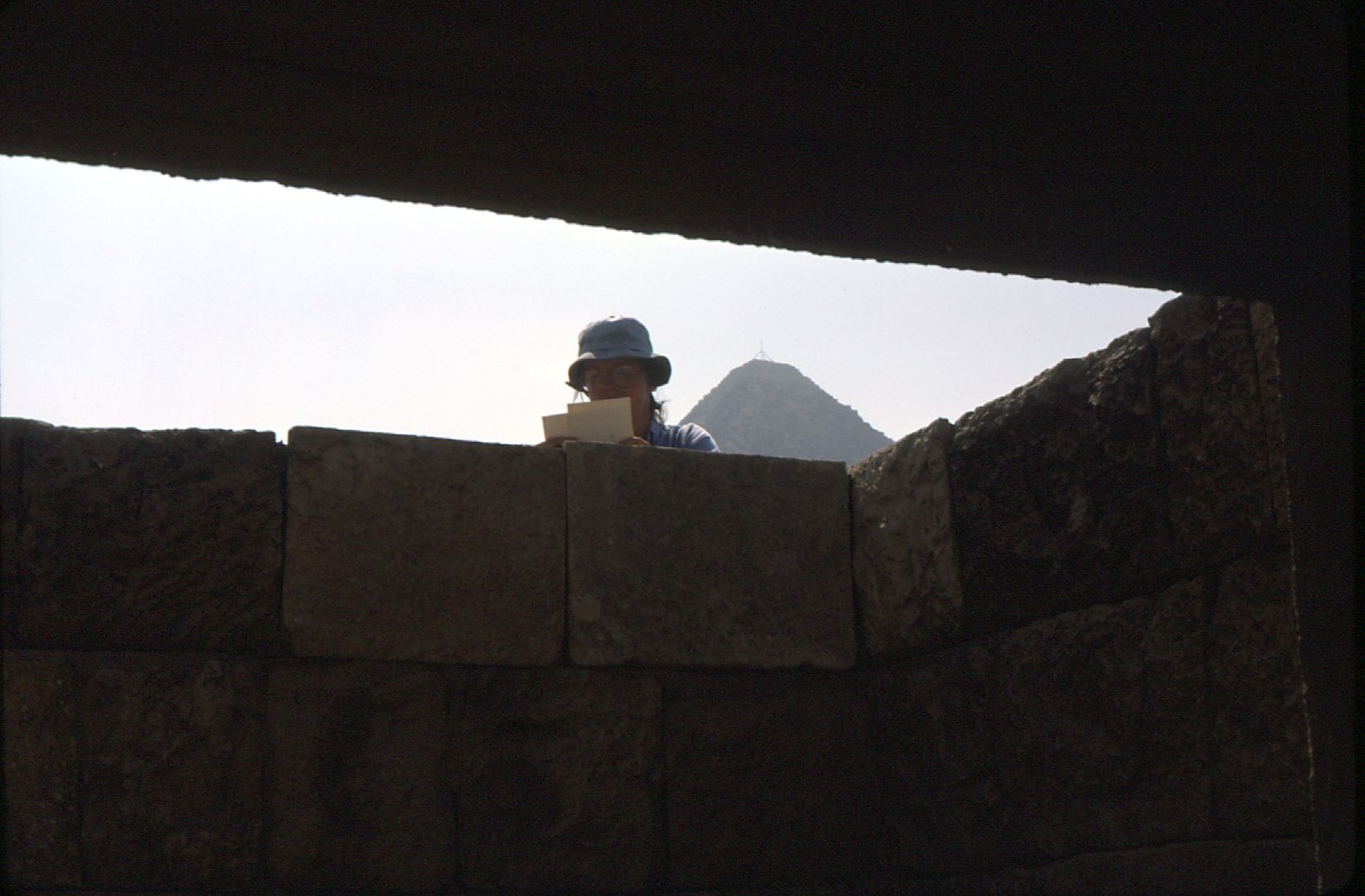 People & places: Site: Giza; View: G 2086