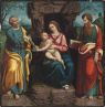 The Virgin And Child With Saints Peter And Paul