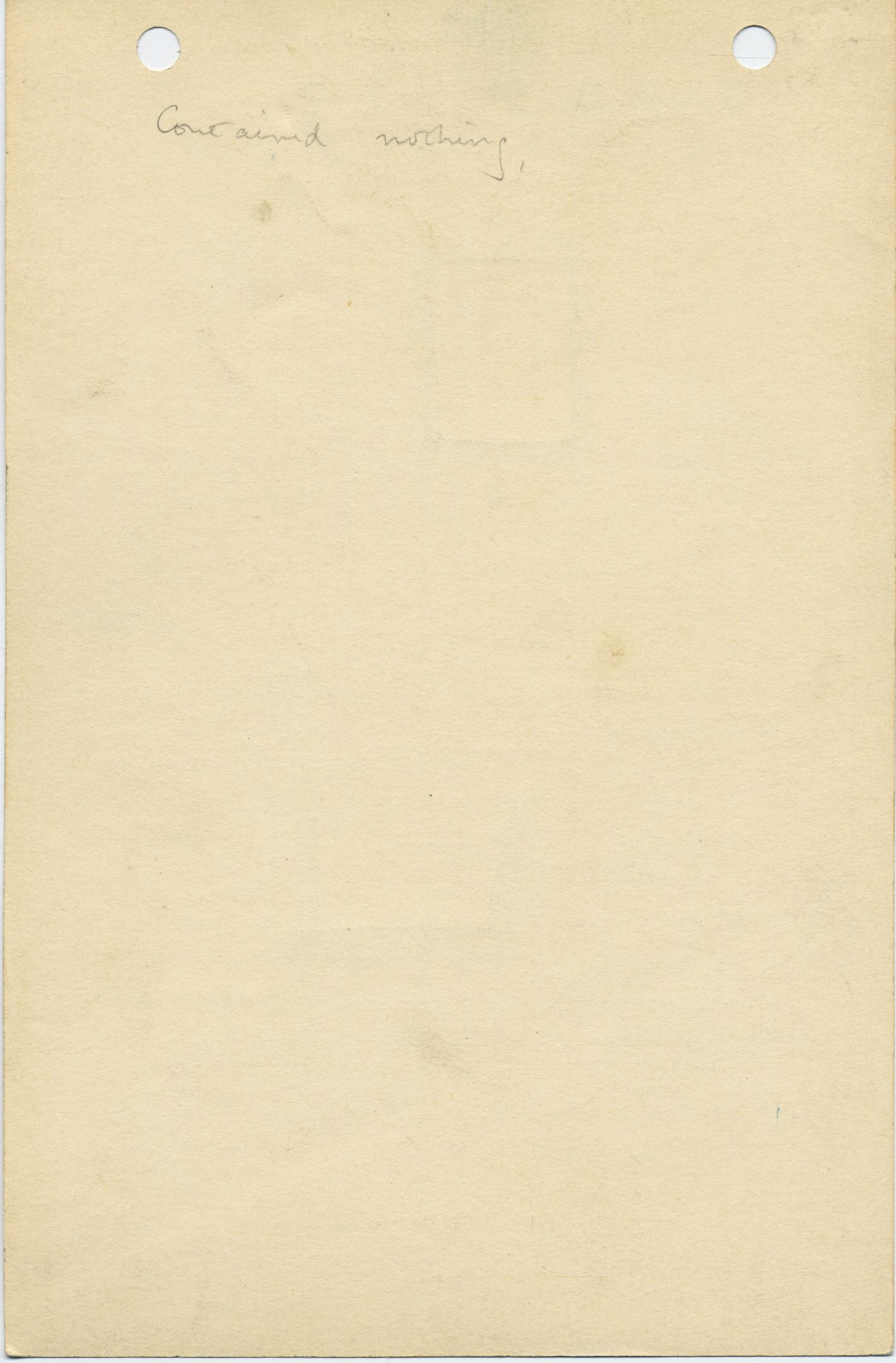 Notes: G 1035bc, Shaft B, notes