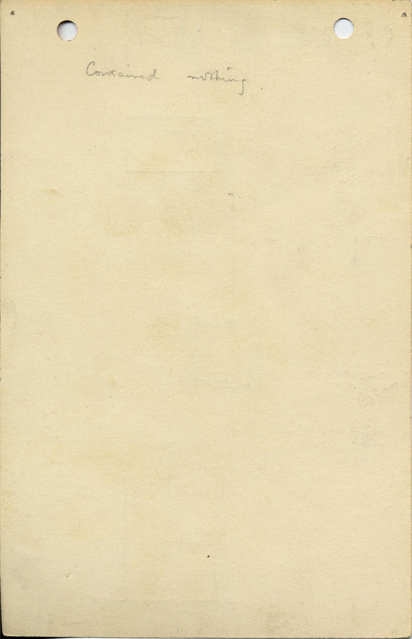 Notes: G 1038, Shaft E, notes