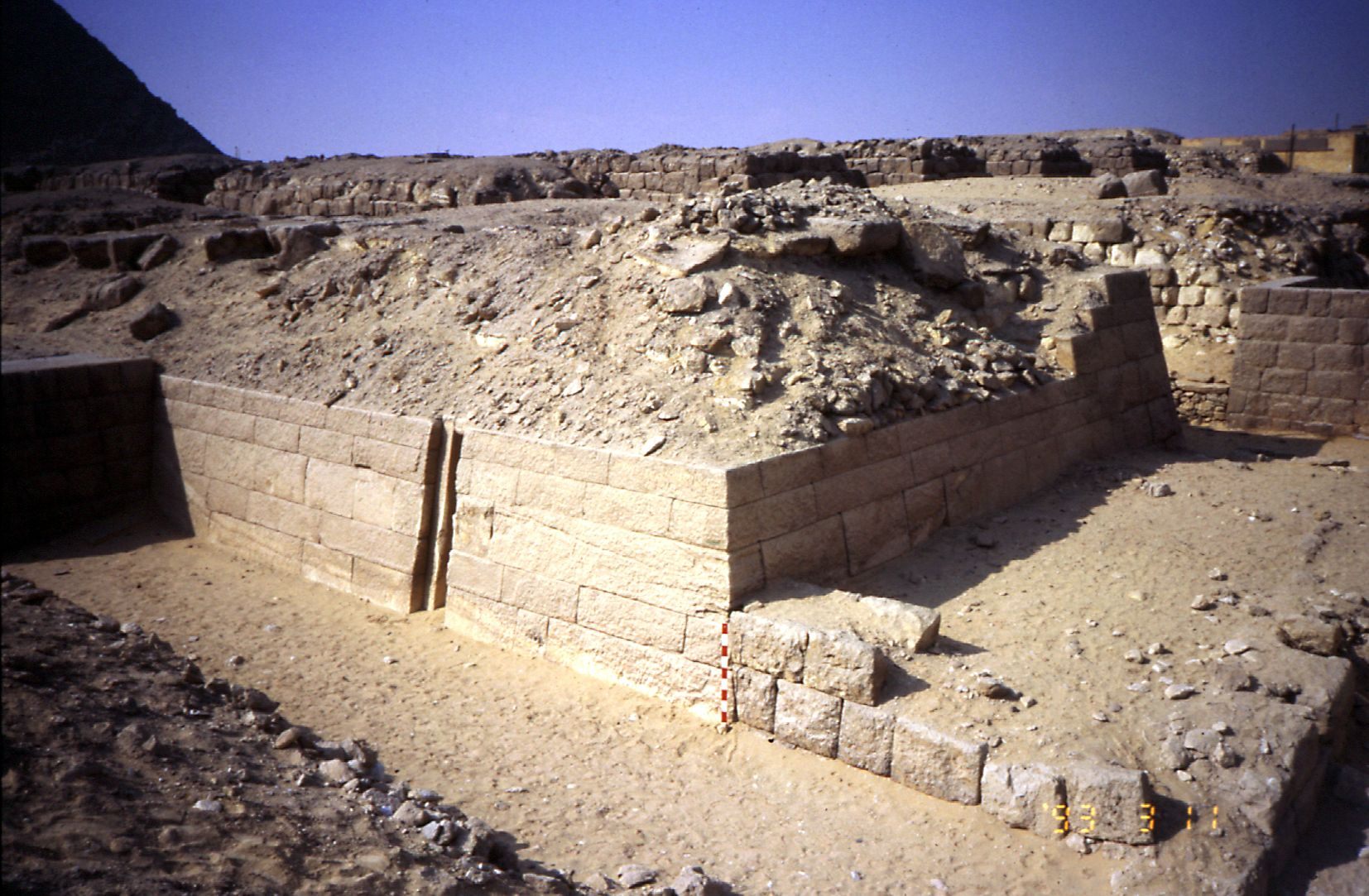 Western Cemetery: Site: Giza; View: G 2155, G 2156, Kaninisut III (G 2156a)