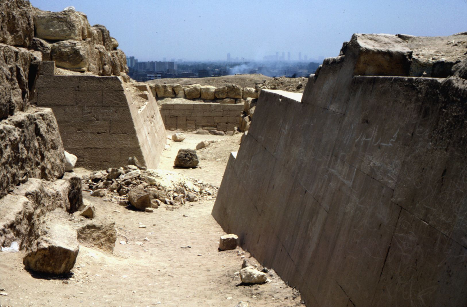Eastern Cemetery: Site: Giza; View: avenue G 4, G 7350, G 7430-7440