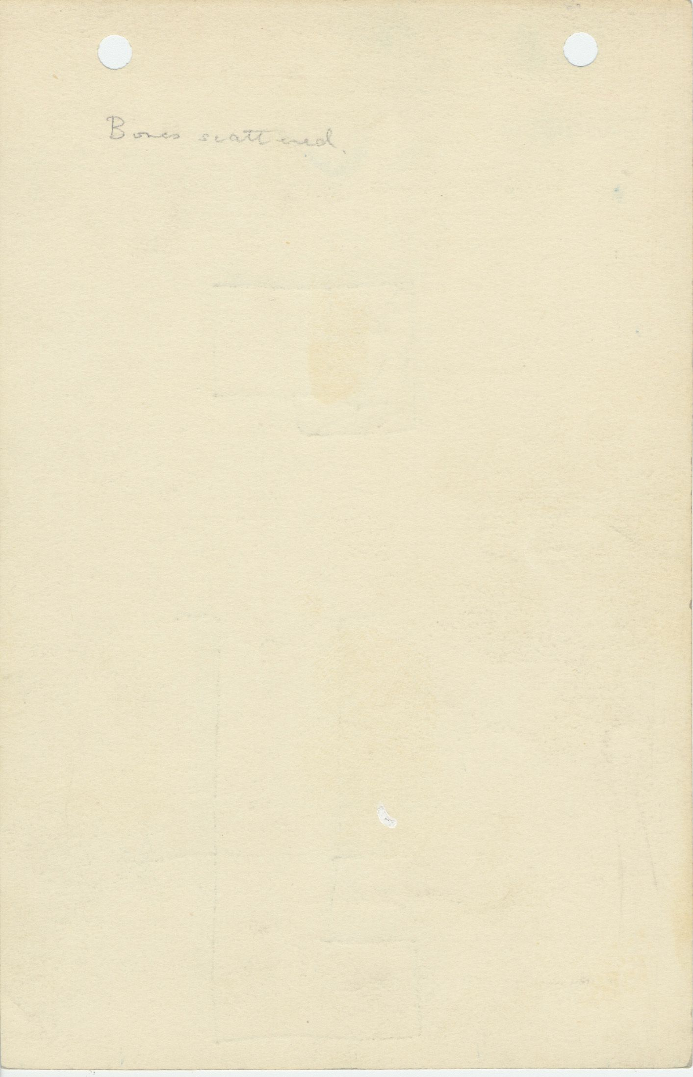 Notes: G 1104+1105: G 1105, Shaft B, notes