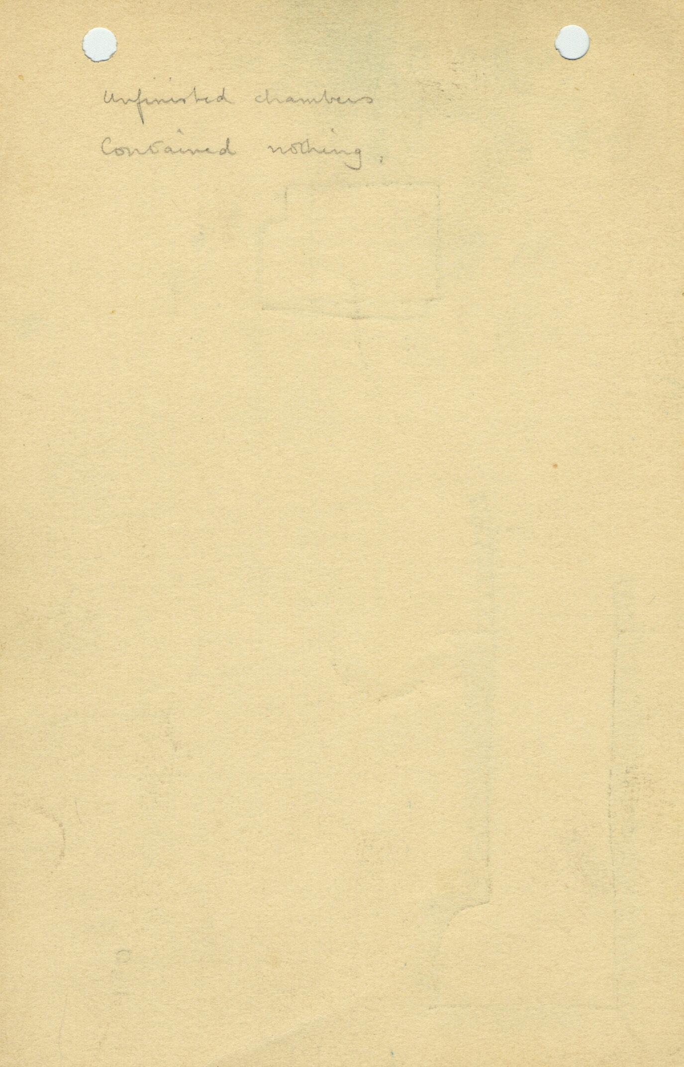 Notes: G 1110, Shaft B, notes