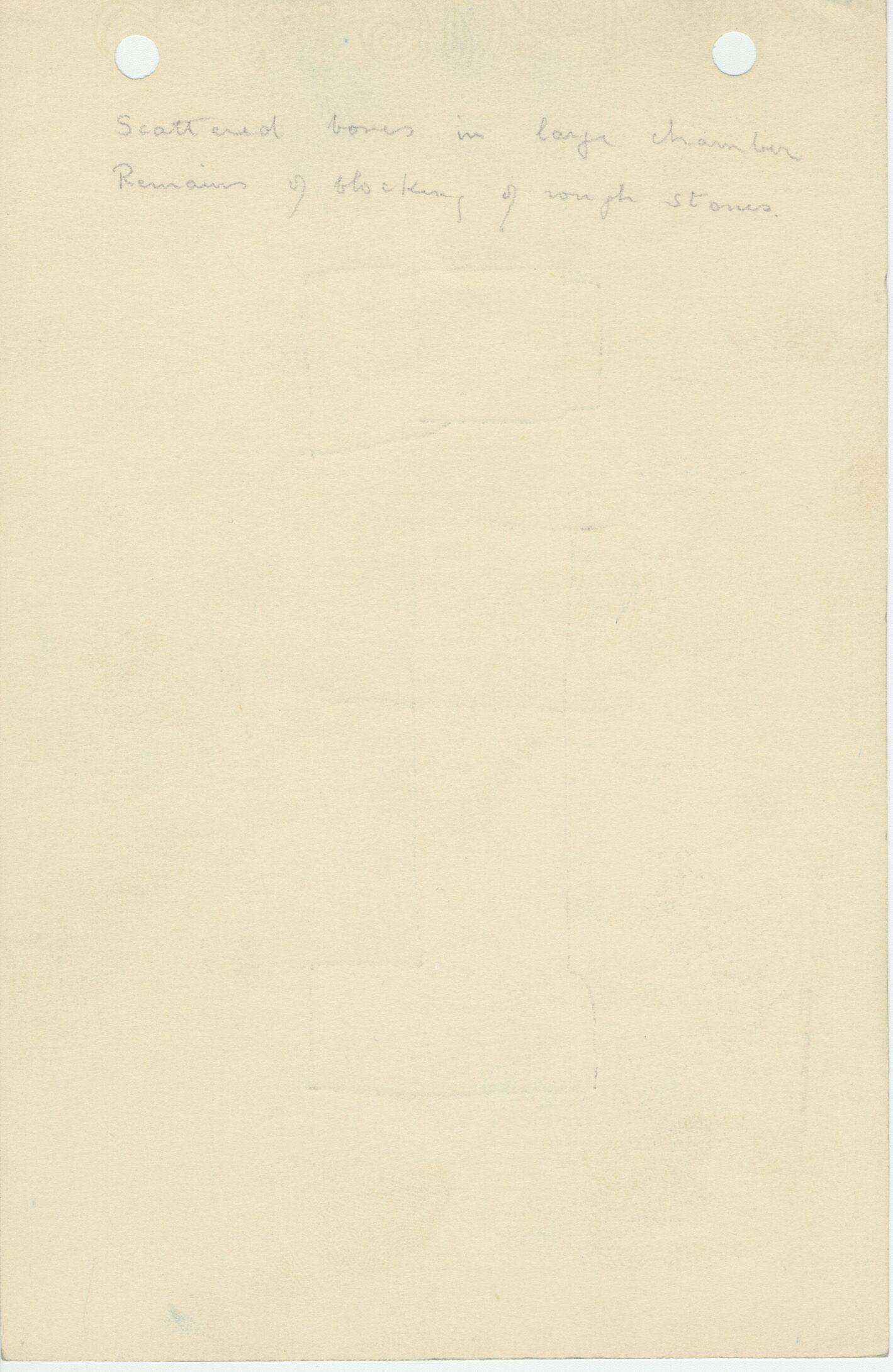 Notes: G 1112+1113: G 1113, Shaft B, notes