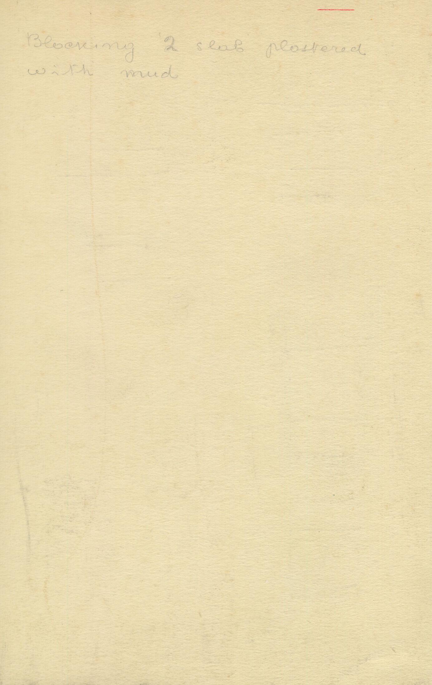 Notes: G 1210, Shaft B, notes