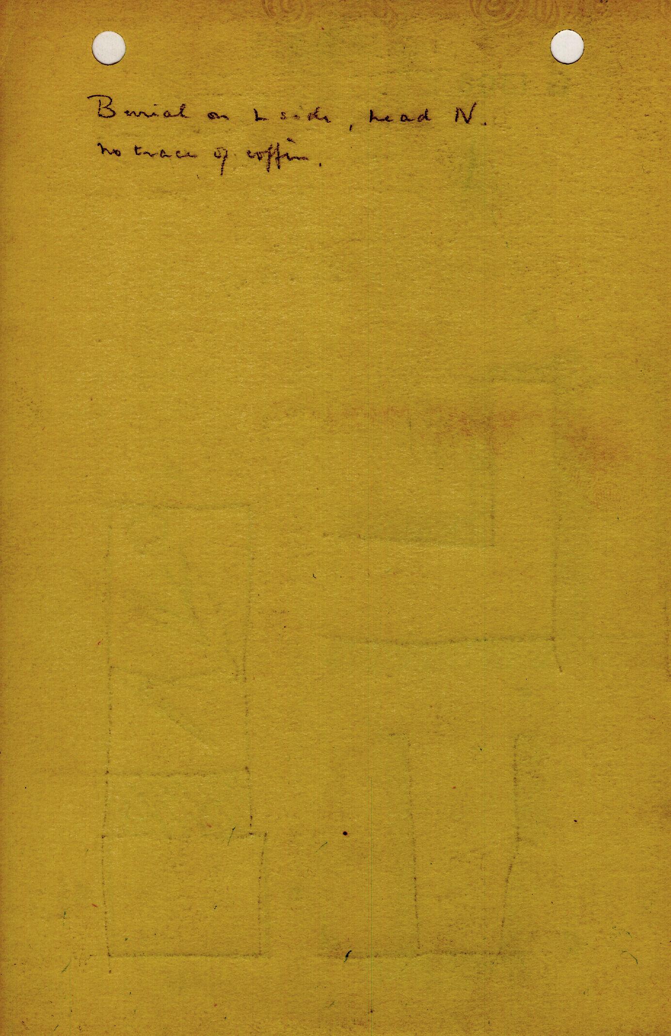 Notes: G 1308, Shaft E, notes