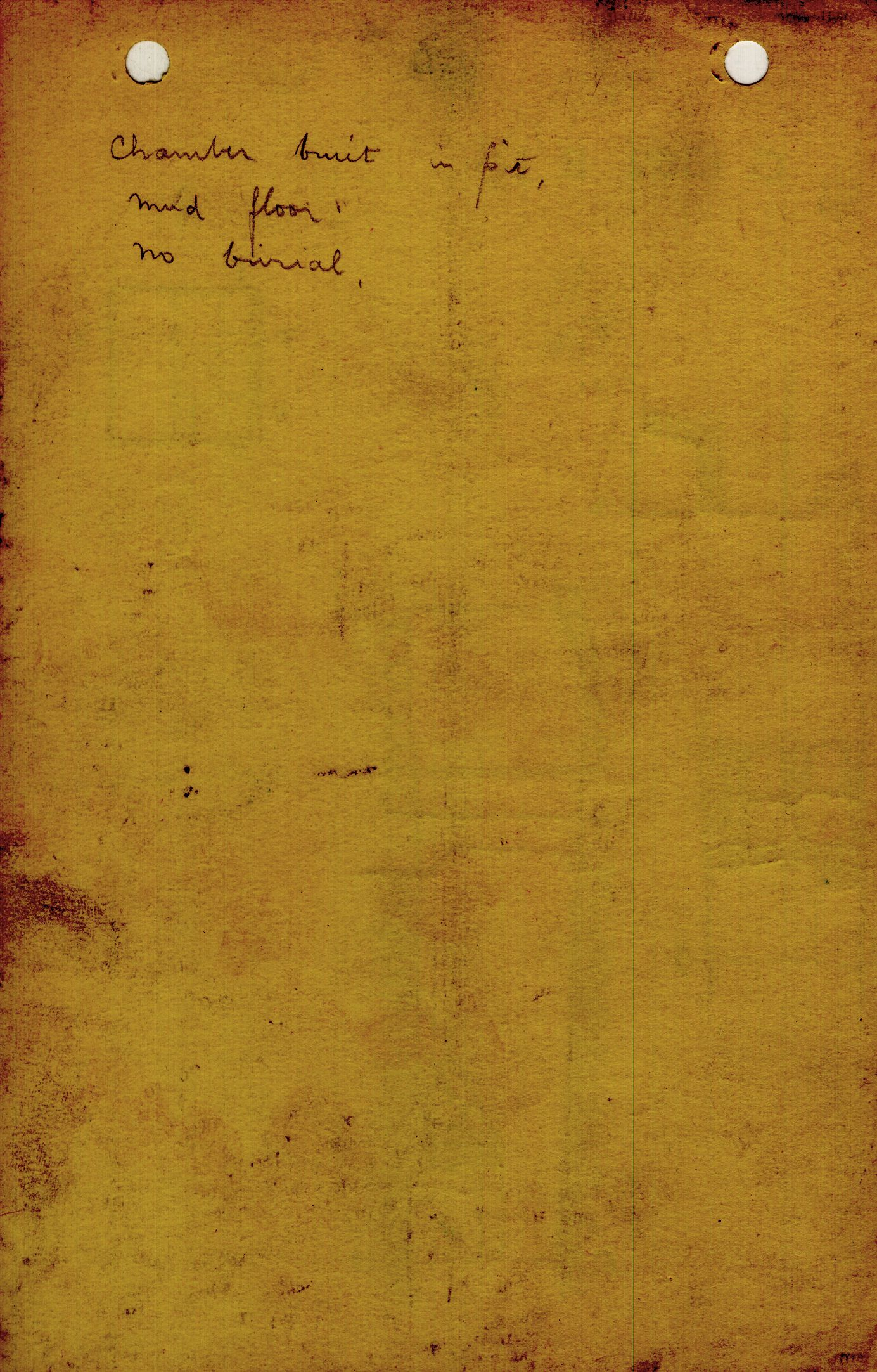 Notes: G 1362, Shaft B (I), notes