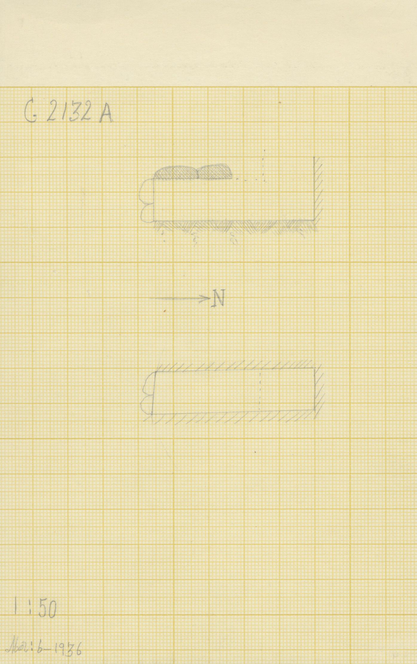 Maps and plans: G 2132, Shaft A