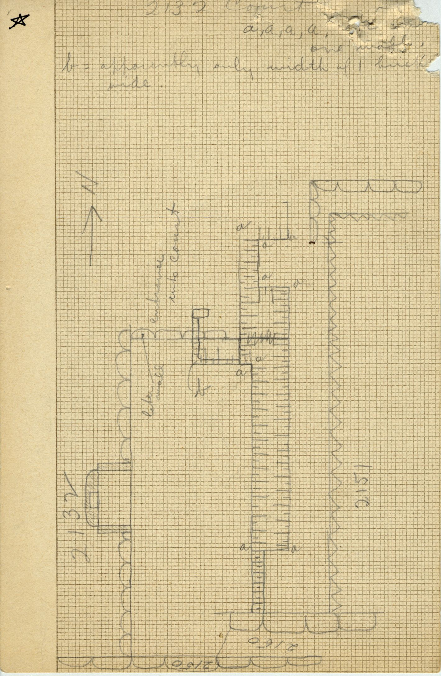 Maps and plans: G 2132, Court