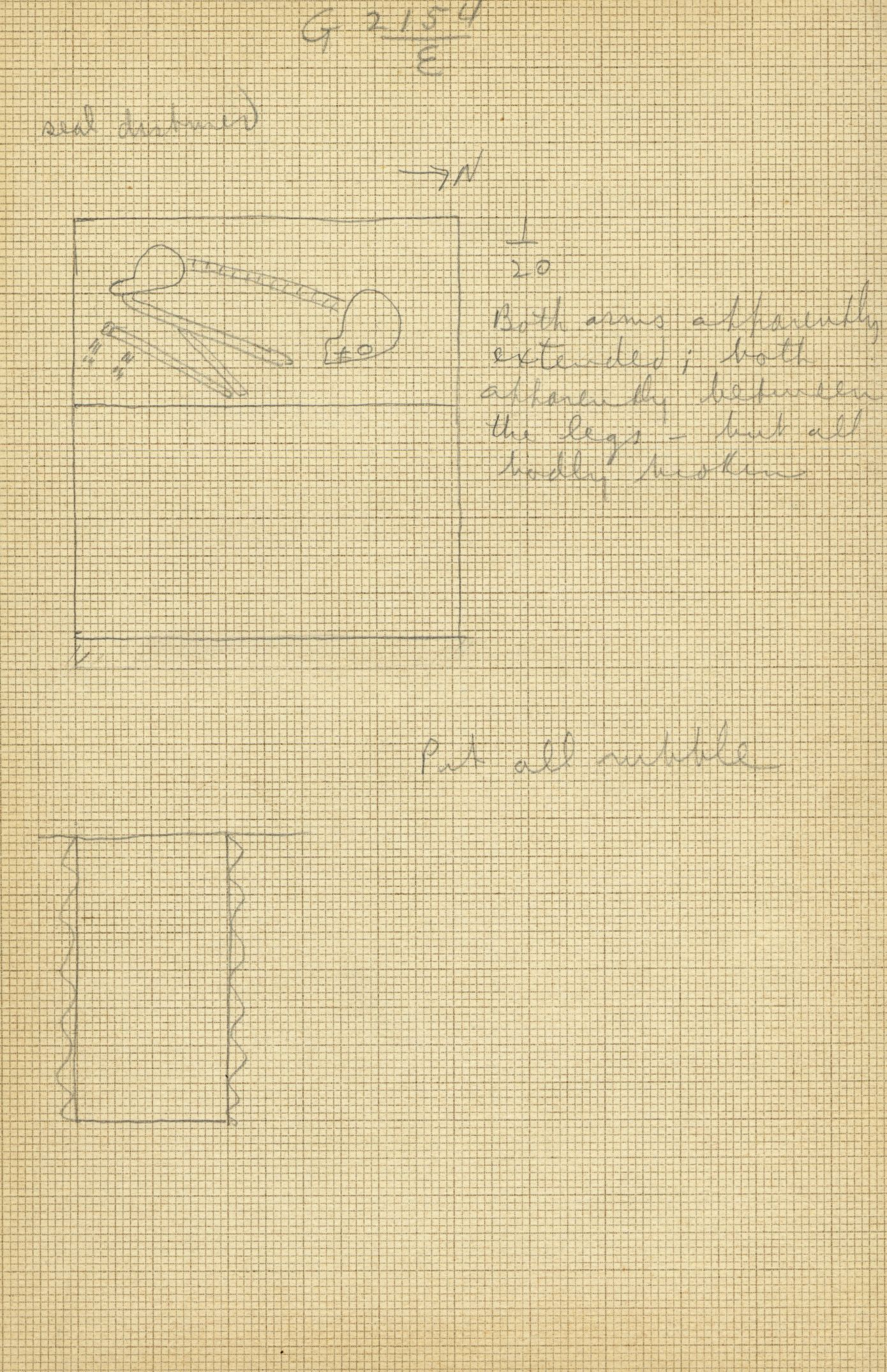 Maps and plans: G 2154, Shaft E