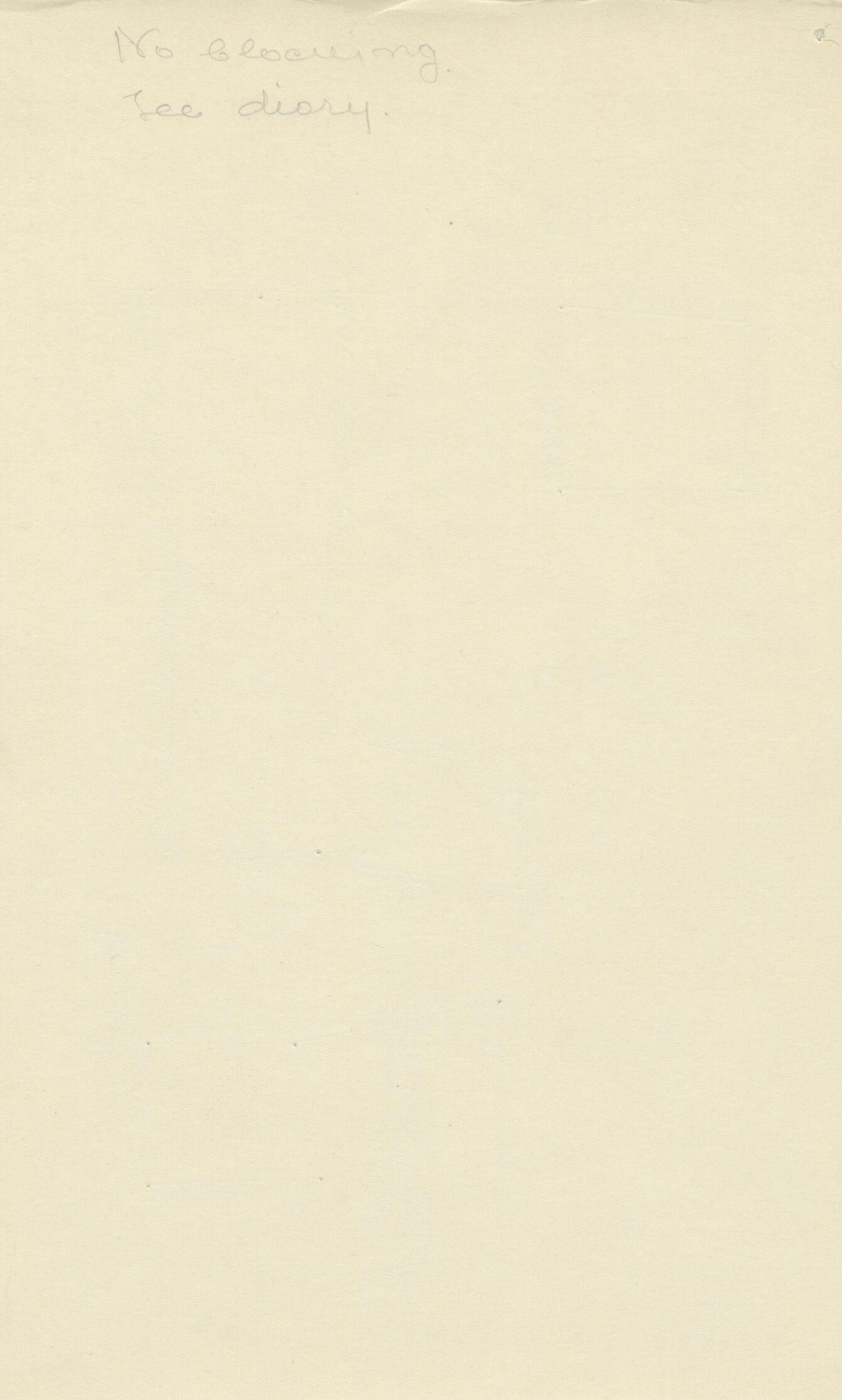 Notes: G 2185, Shaft D, notes