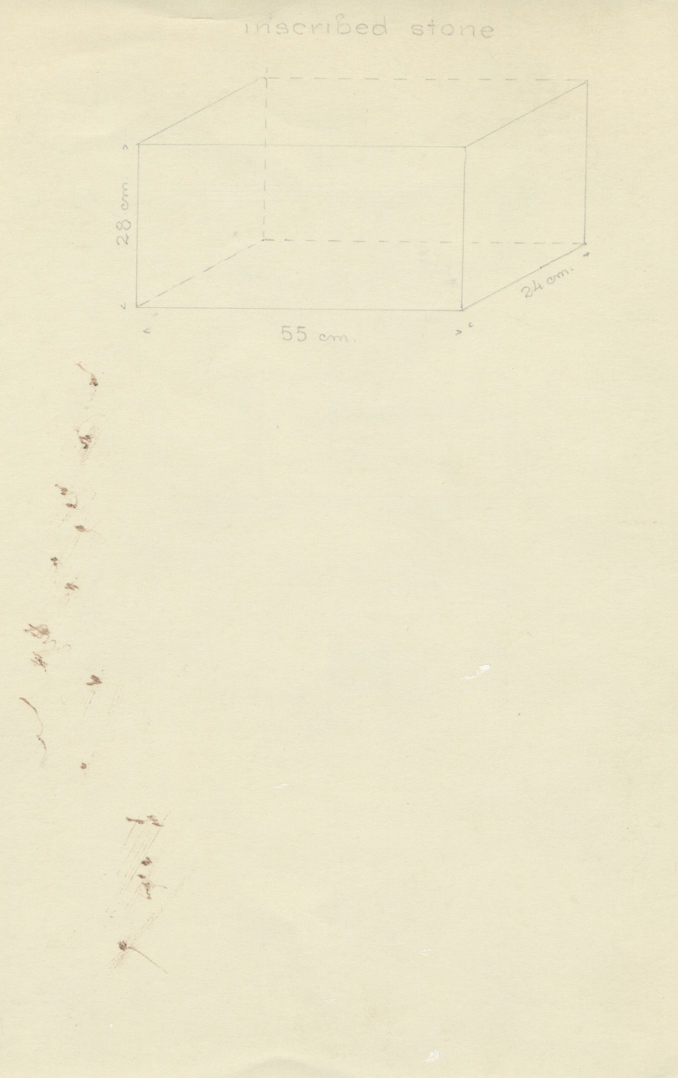 Drawings: G 2188, Shaft Y, notes
