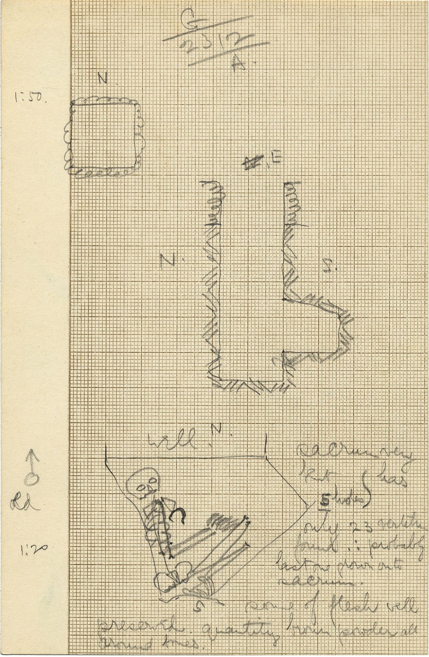 Maps and plans: G 2312, Shaft A