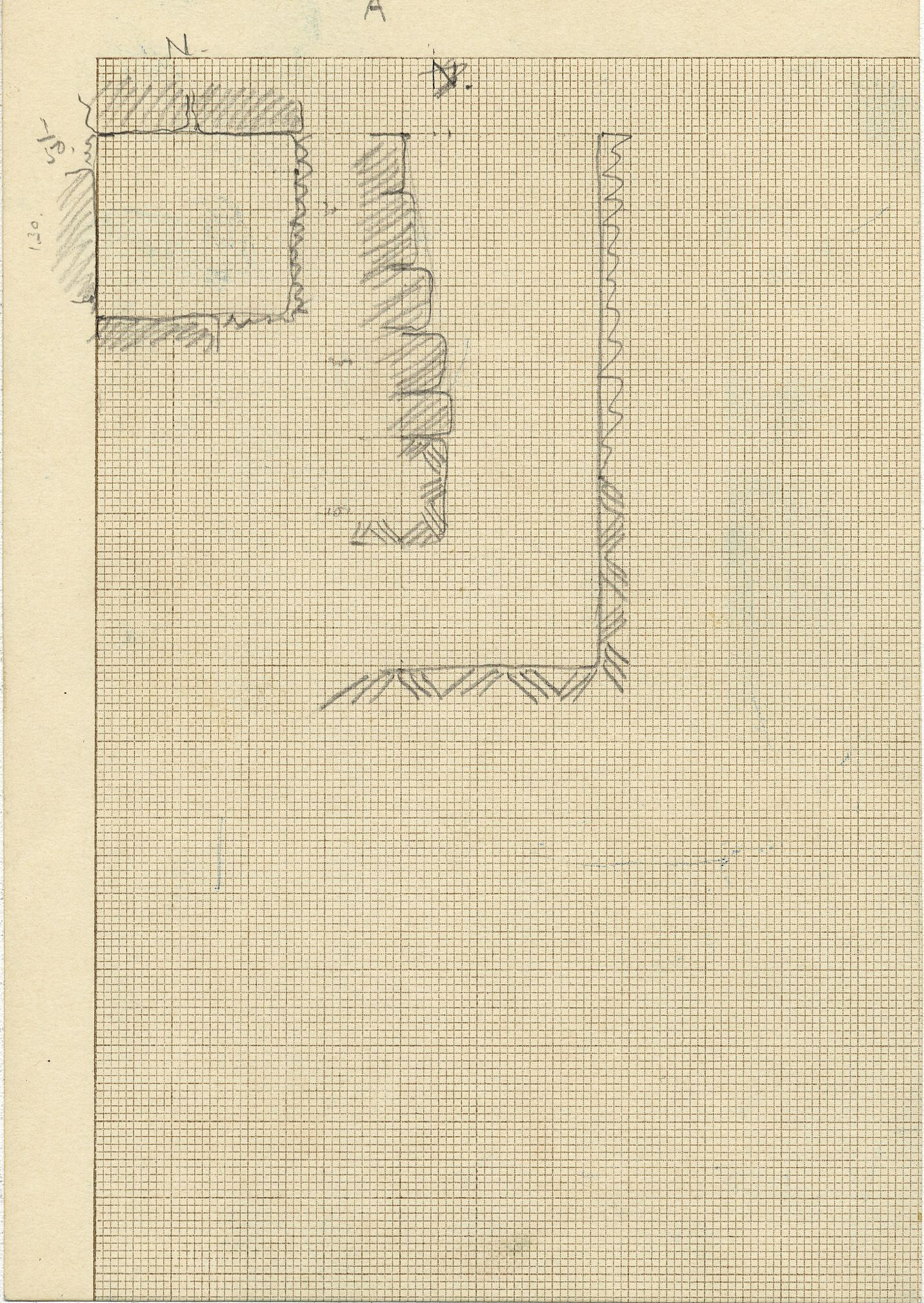 Maps and plans: G 2332, Shaft A