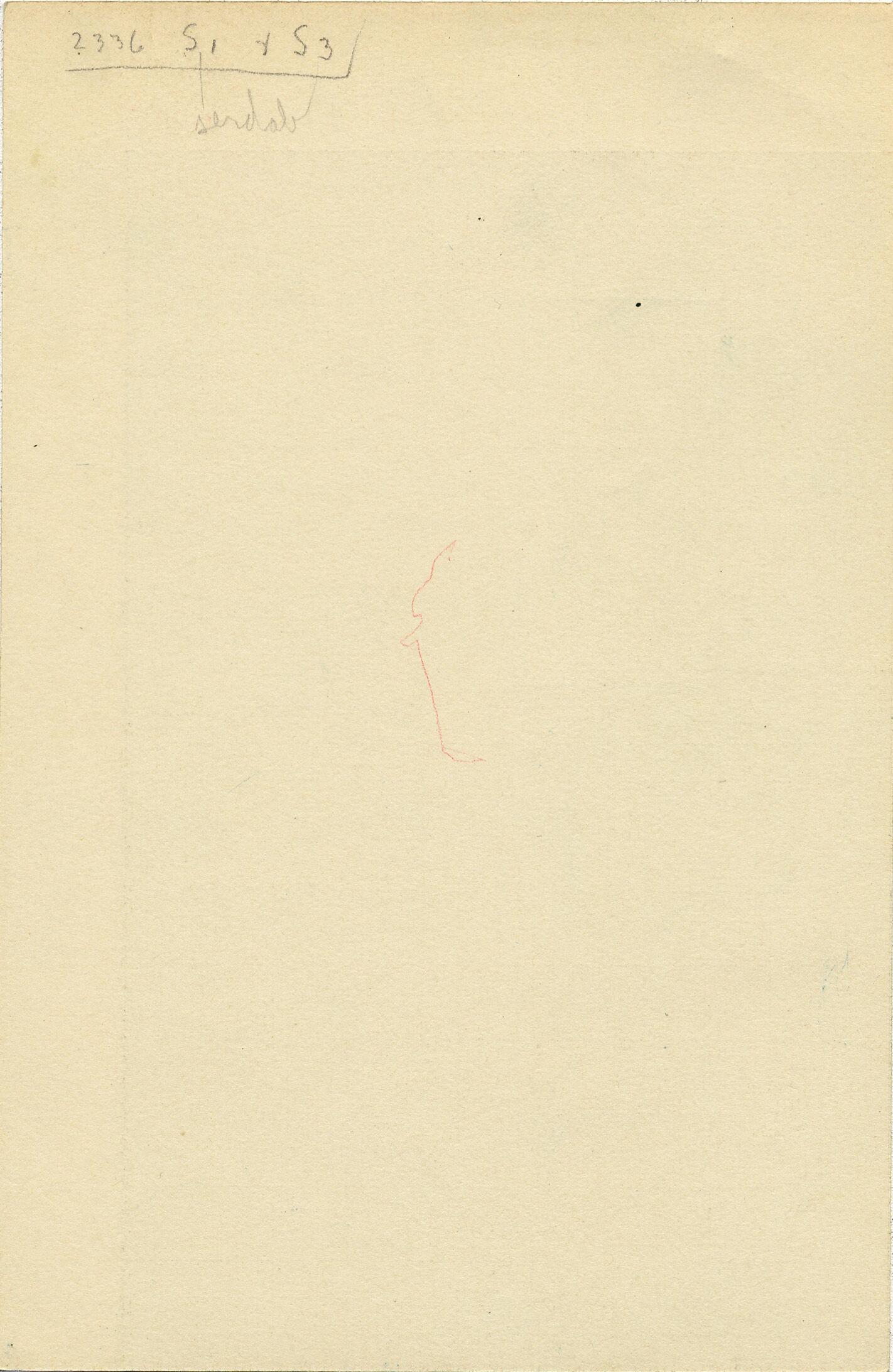 Notes: G 2336, Shaft E, notes