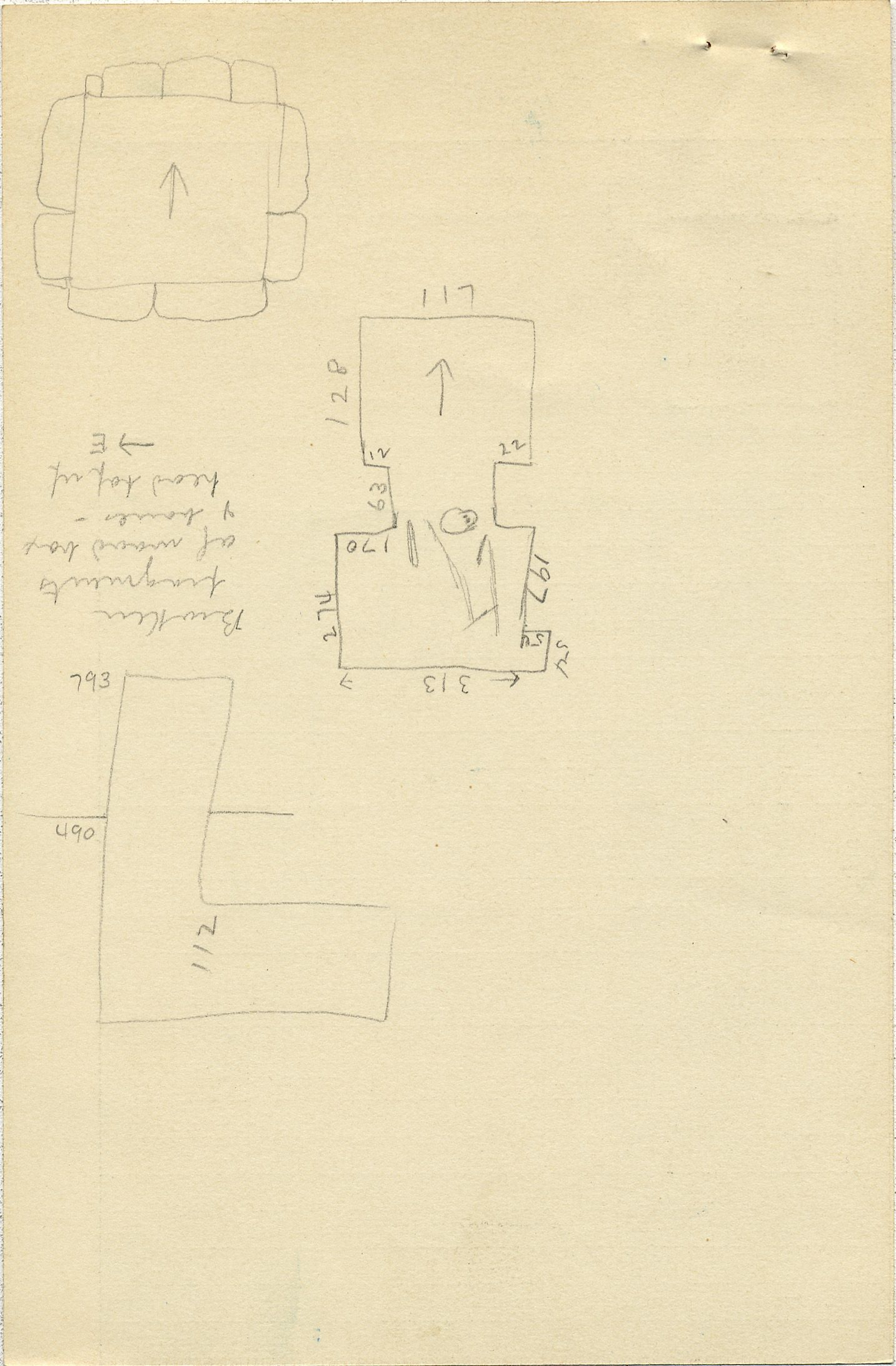 Maps and plans: G 2337, Shaft A, notes