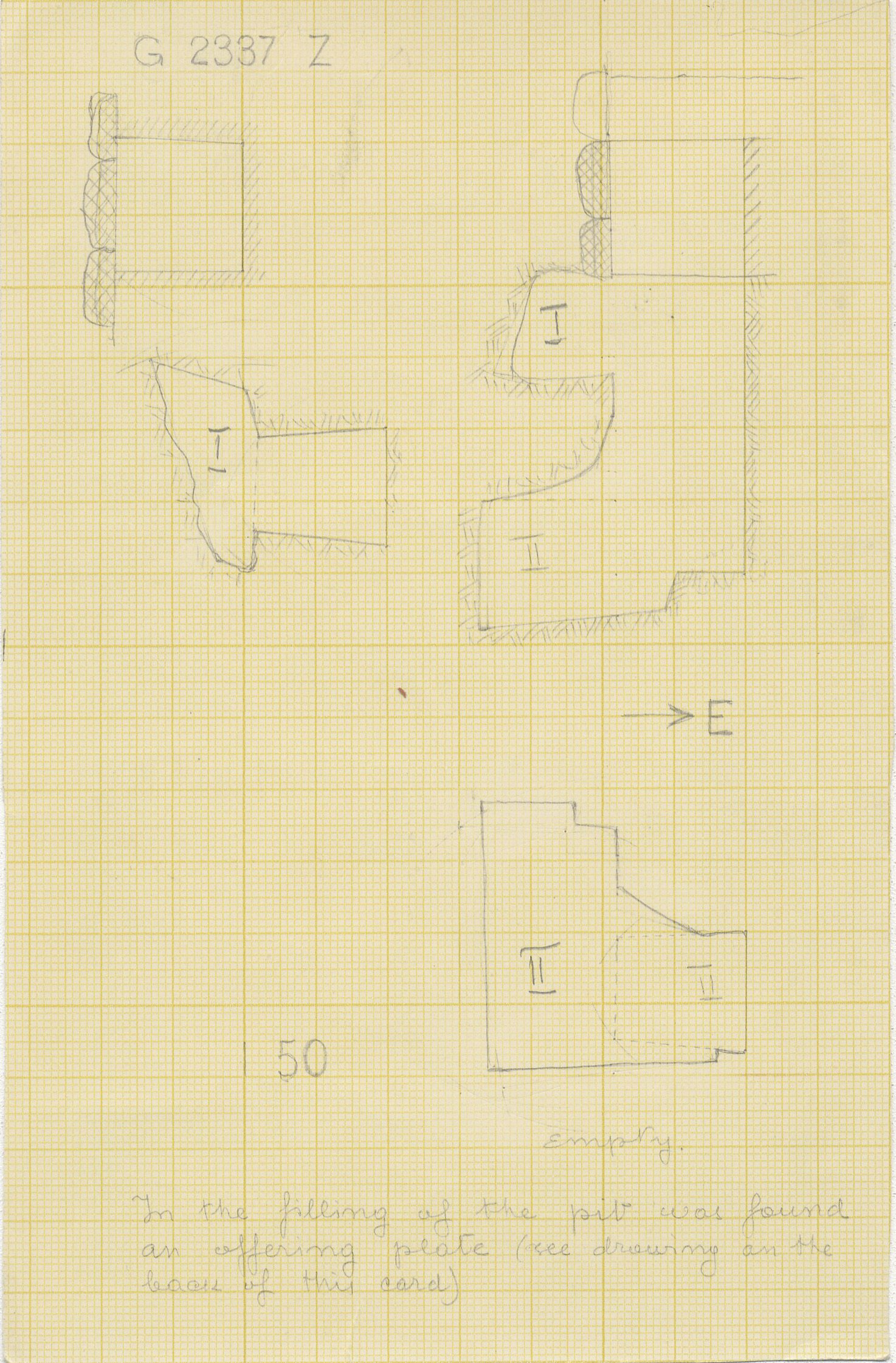 Maps and plans: G 2337, Shaft Z