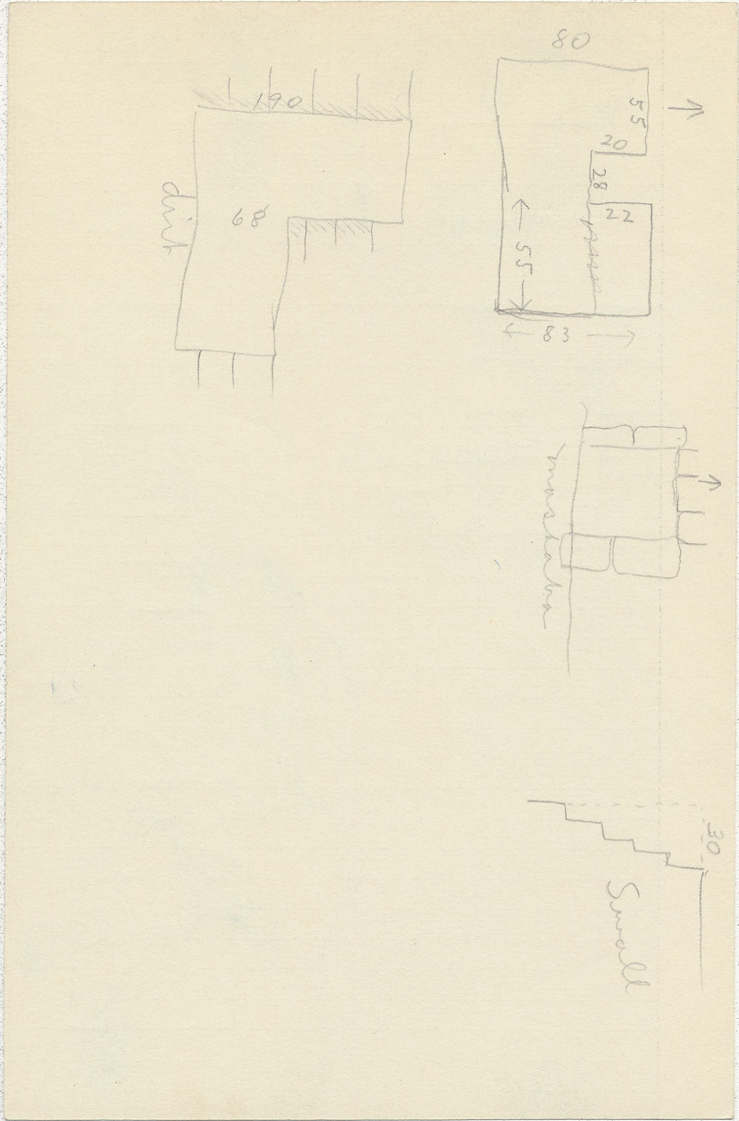Maps and plans: G 2350 = G 5290, Shaft N, notes