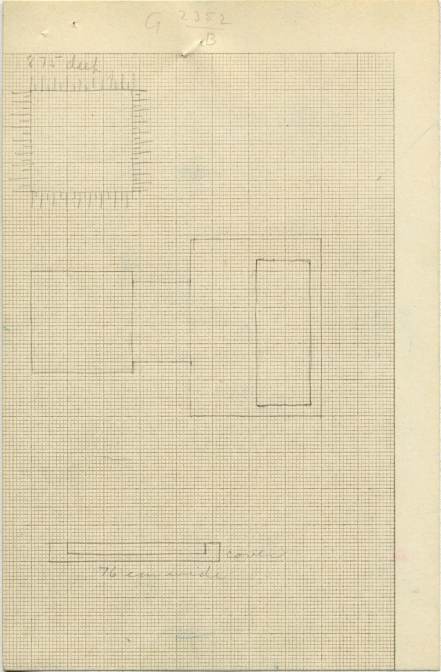 Maps and plans: G 2352, Shaft B