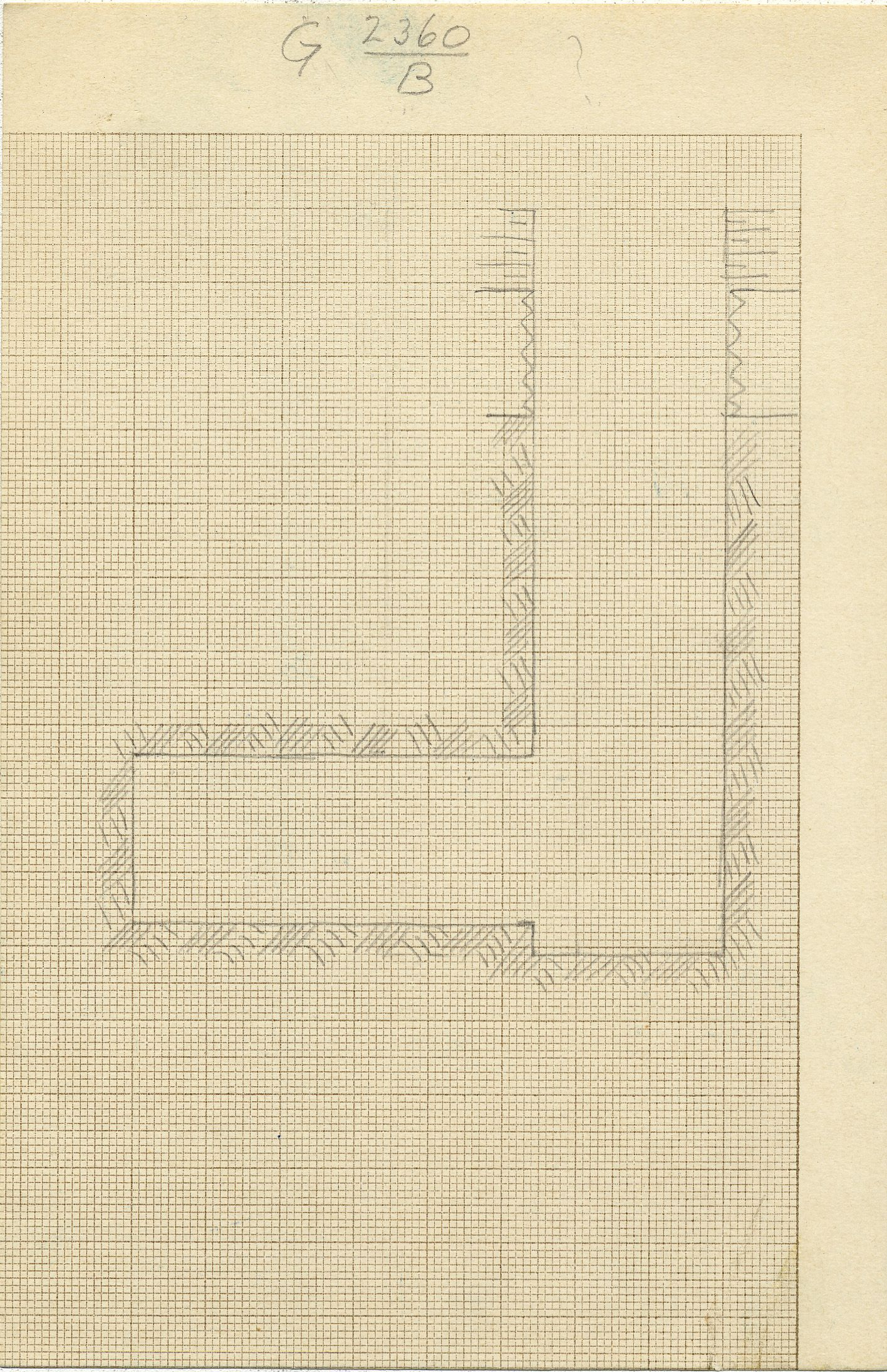 Maps and plans: G 2360, Shaft B