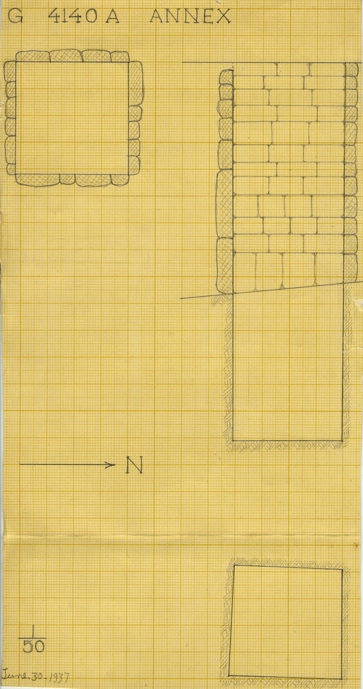 Maps and plans: G 4140-Annex = G 4141, Shaft A