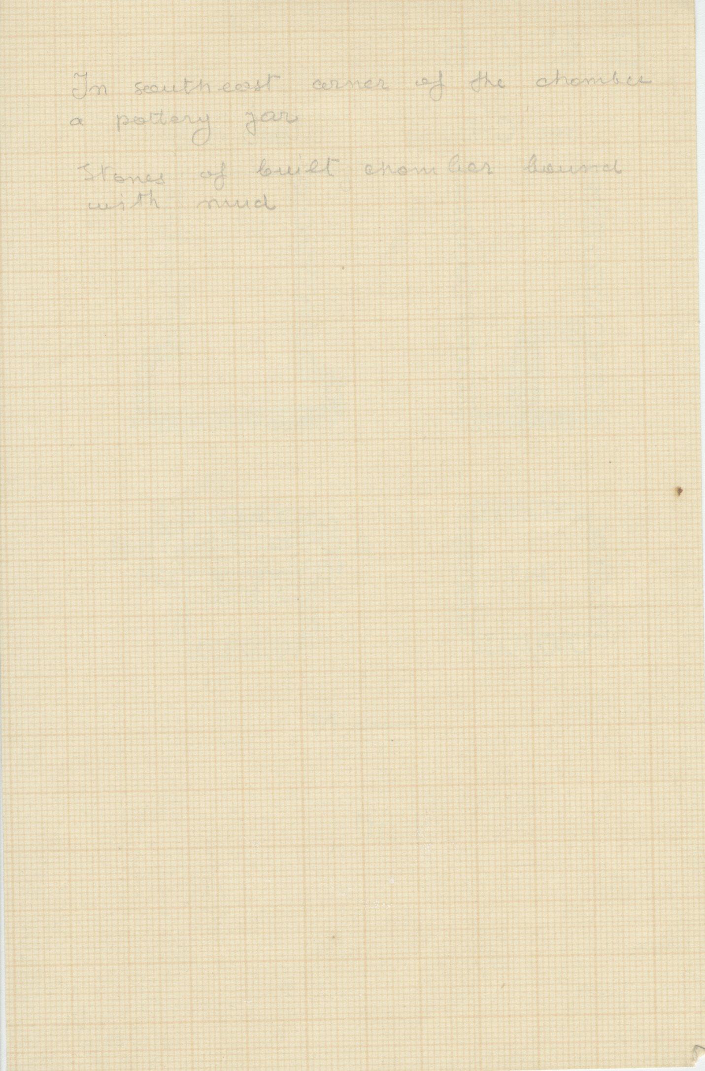 Notes: G 4512, Shaft B, notes